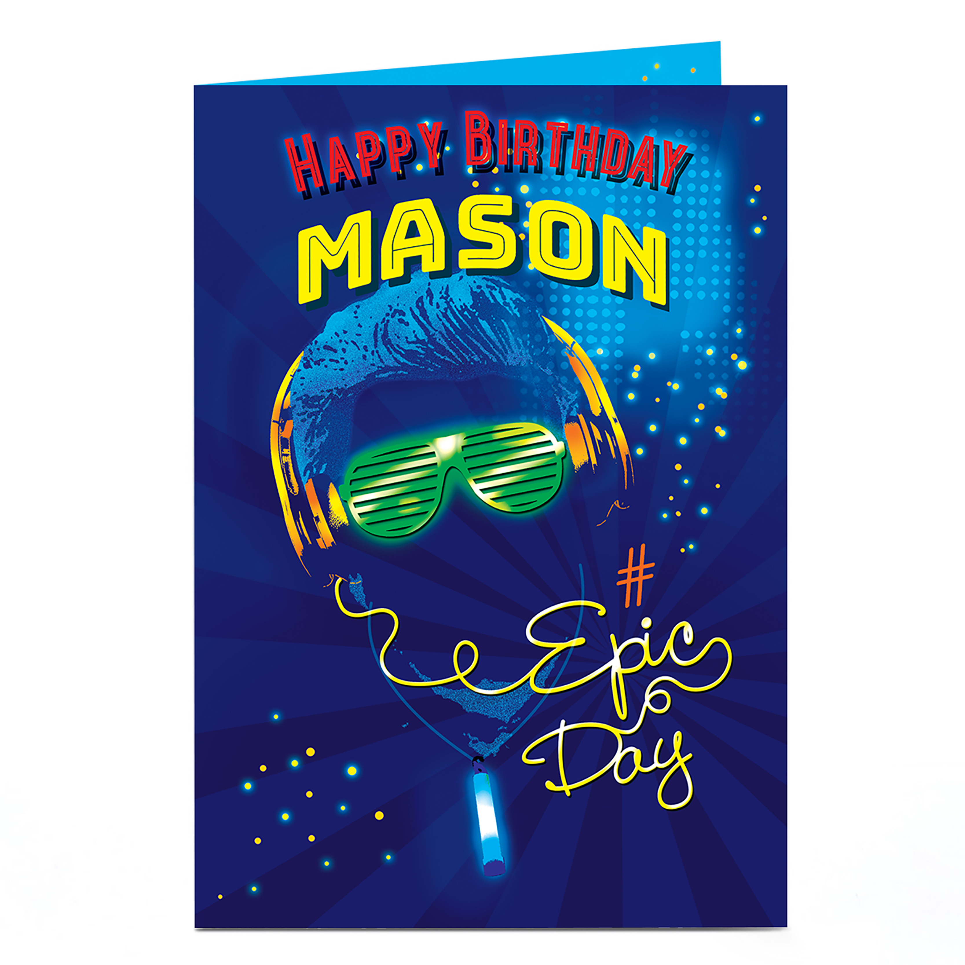 buy personalised birthday card  epic day for gbp 1794