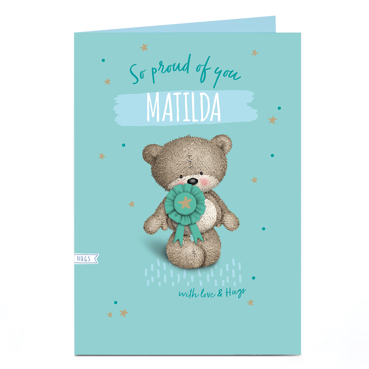 Hugs Bear Any Occasion Card - Proud of You