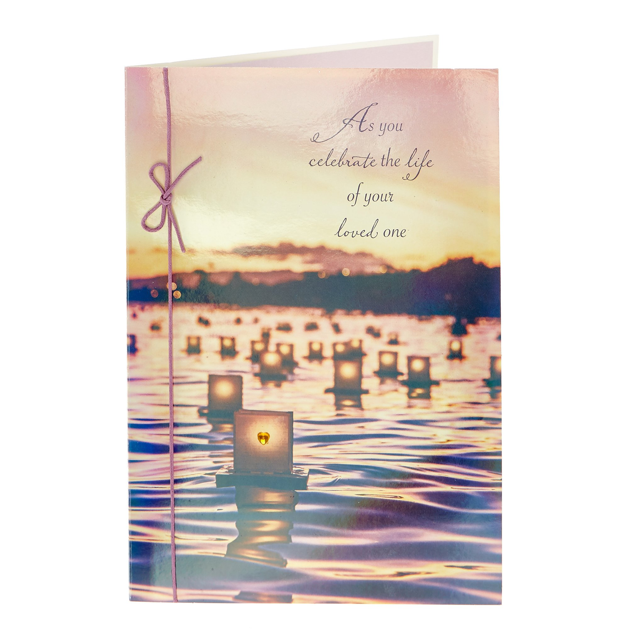 Sympathy Card - Celebrate The Life