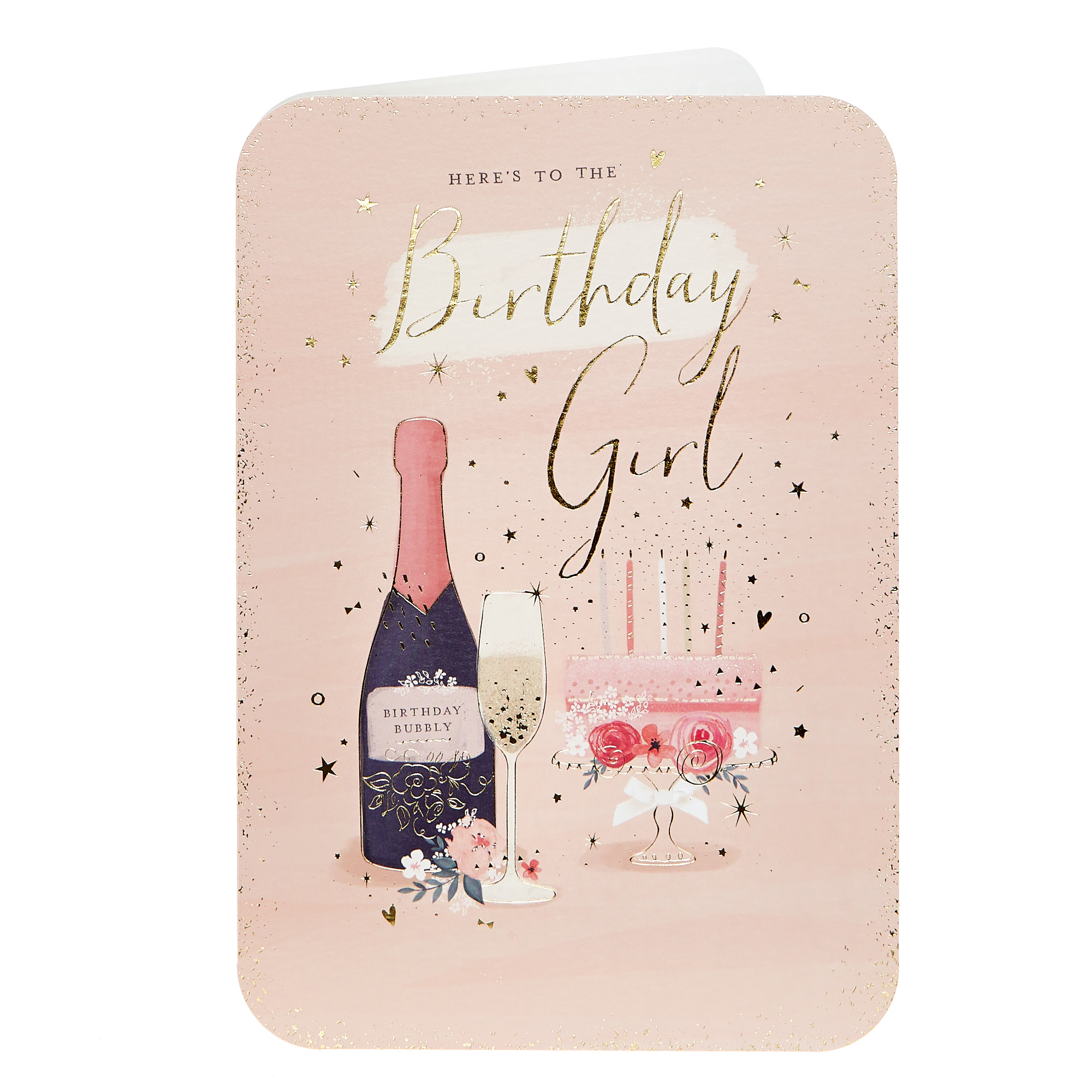 Birthday Card - Here's To The Birthday Girl
