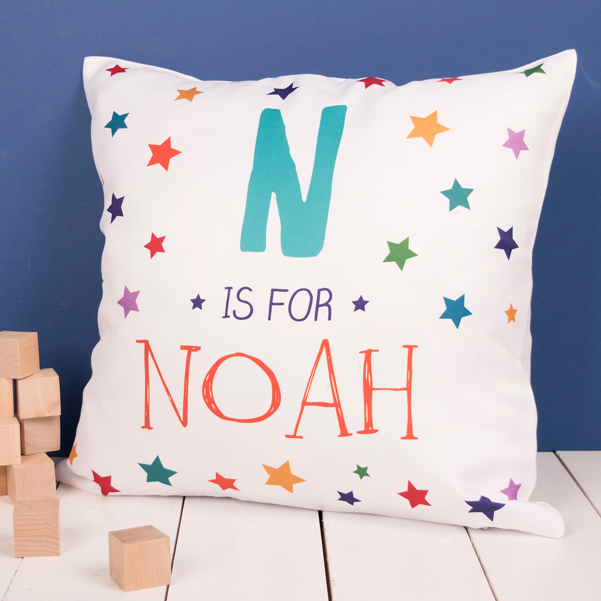 Personalised Initial & Name Cushion