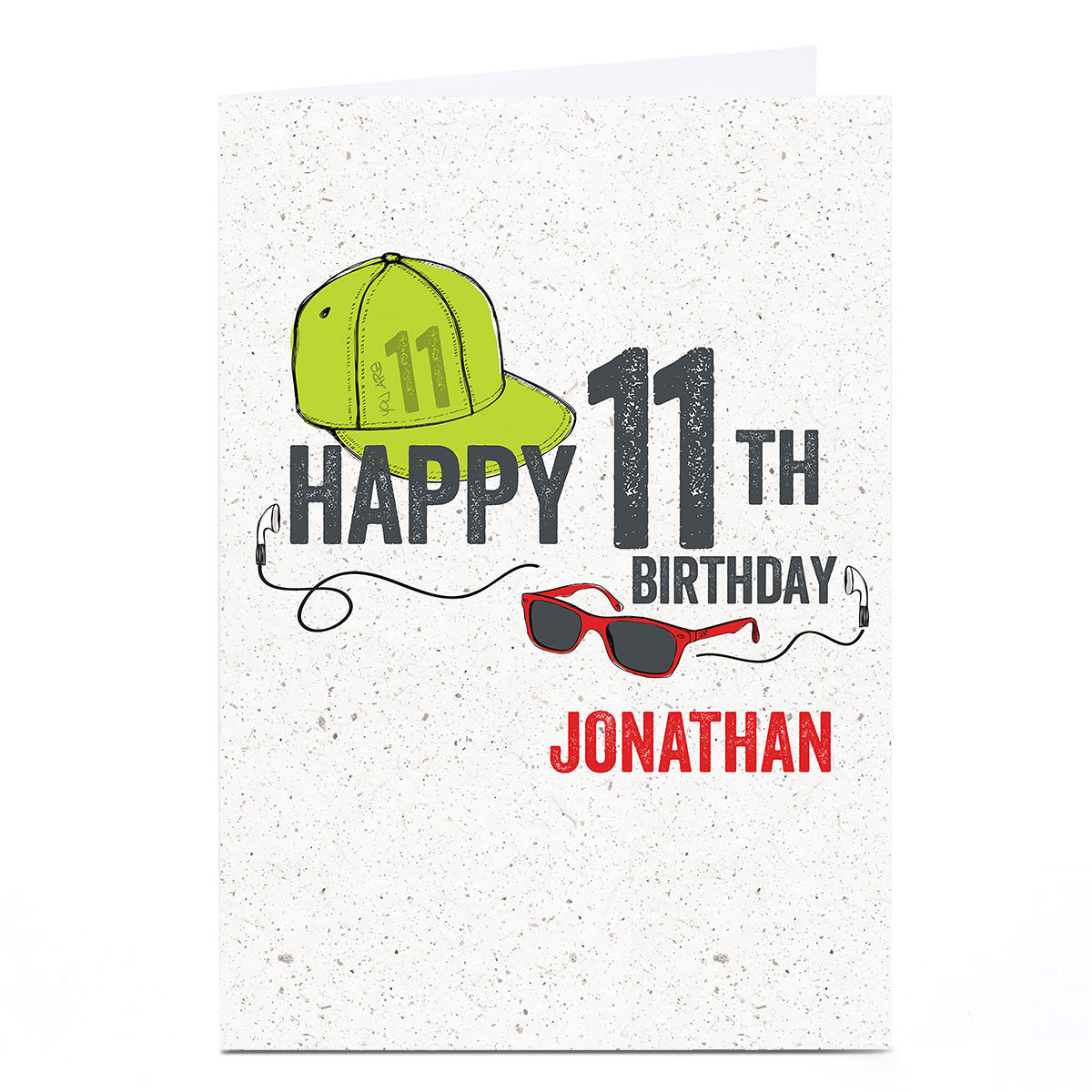 Personalised Any Age Birthday Card - Cool Dude