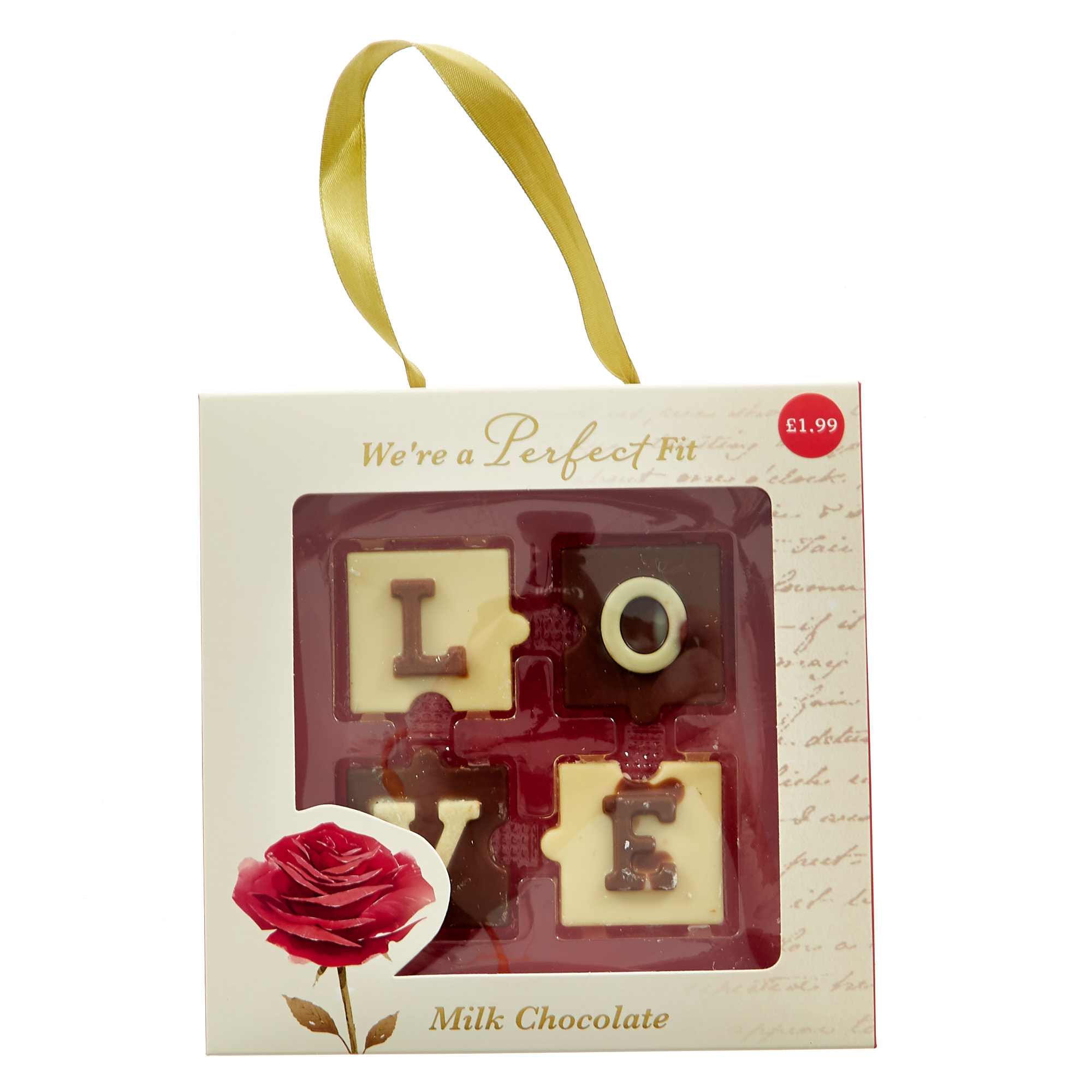 Perfect Fit Milk Chocolate Jigsaws - Pack Of 12