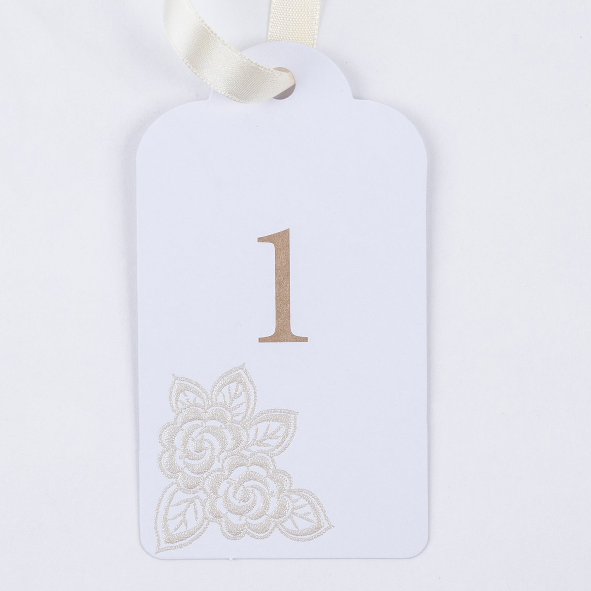 Pearlescent Table Numbers, Pack Of 12