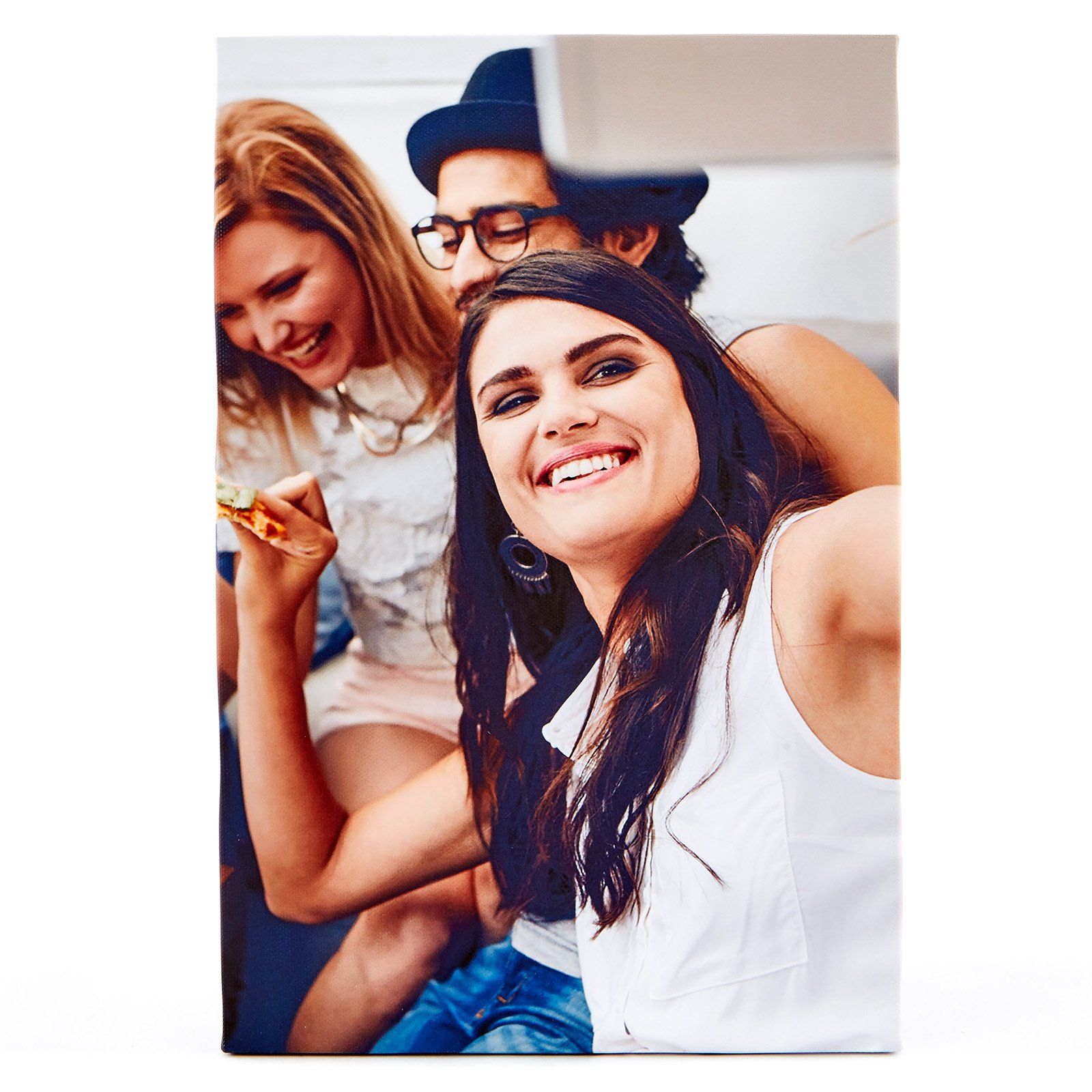 Personalised Photo Canvas - 12x8 Inches (Portrait)