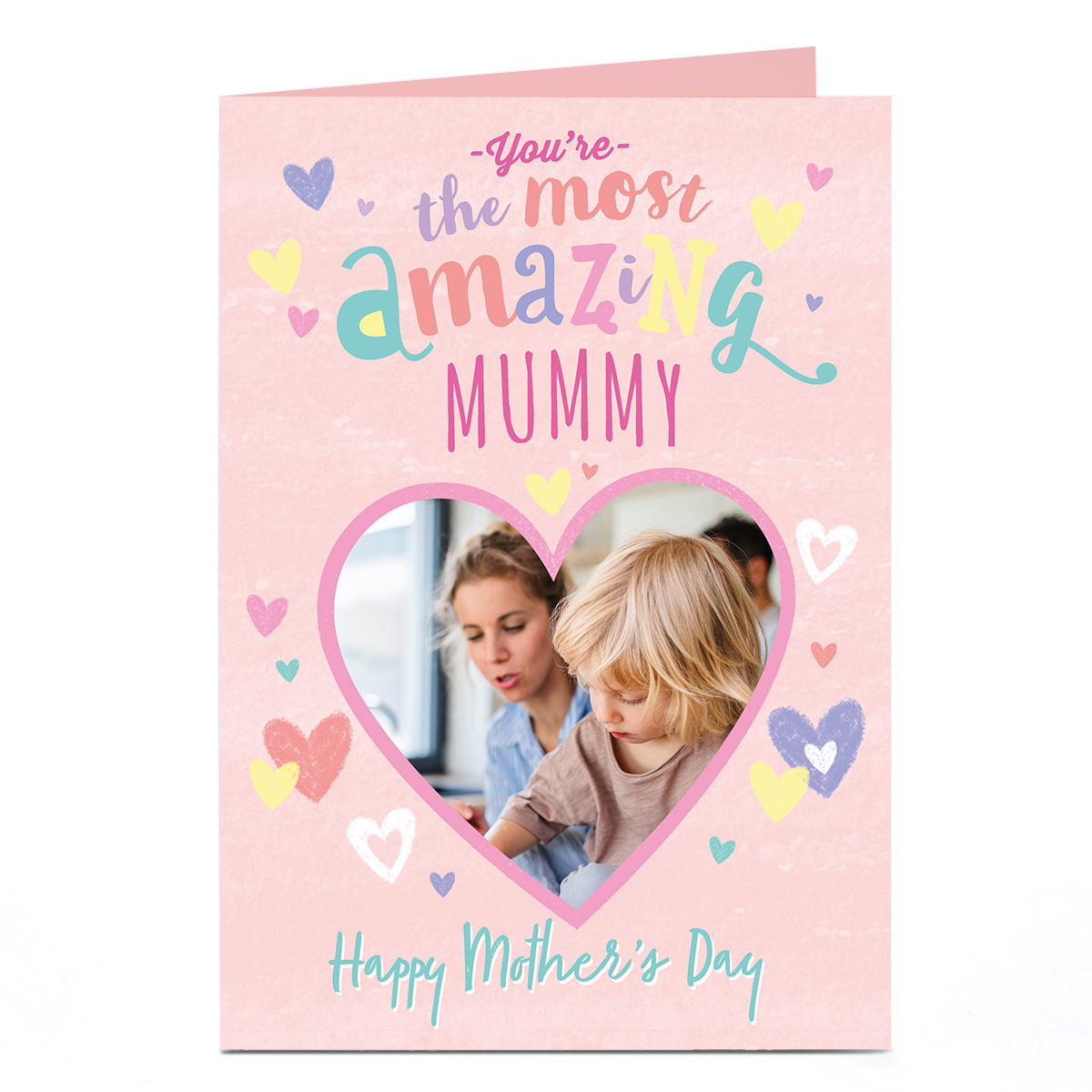 Personalised Mother's Day Photo Card - You're the most Amazing