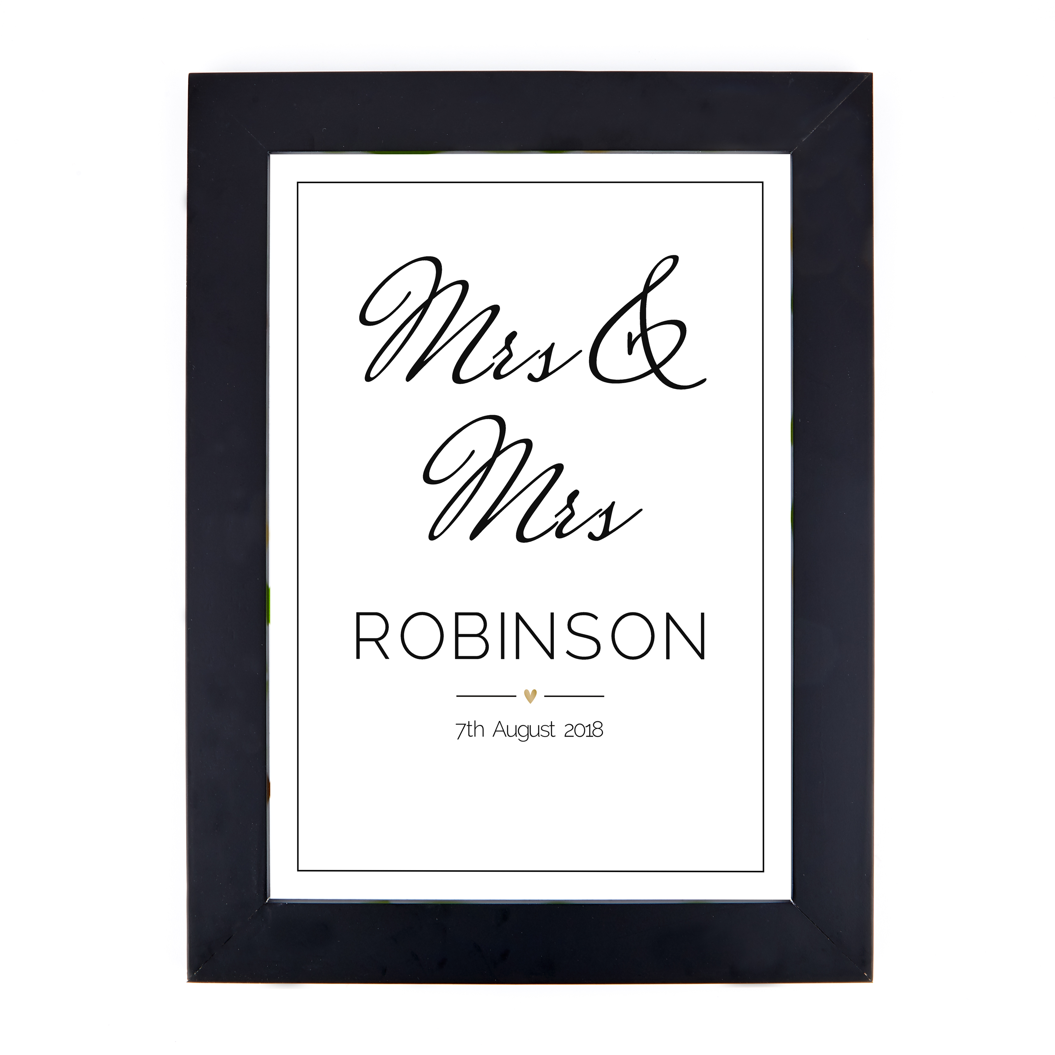 Personalised Print - Wedding Date