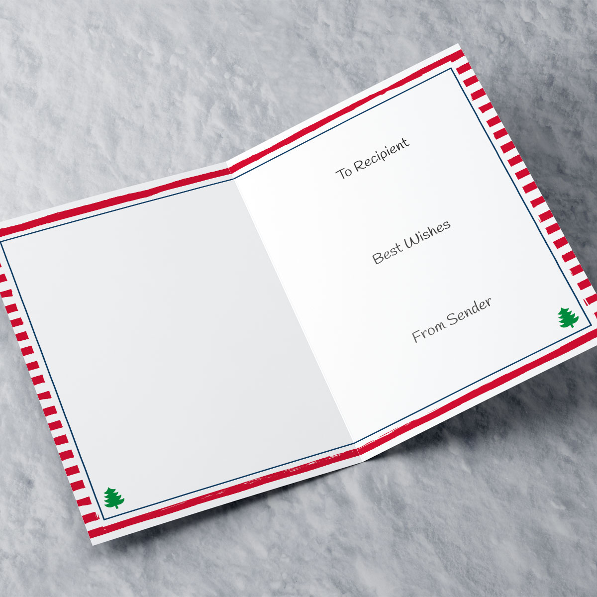 Personalised Christmas Card - Magical & Sparkling - Friend