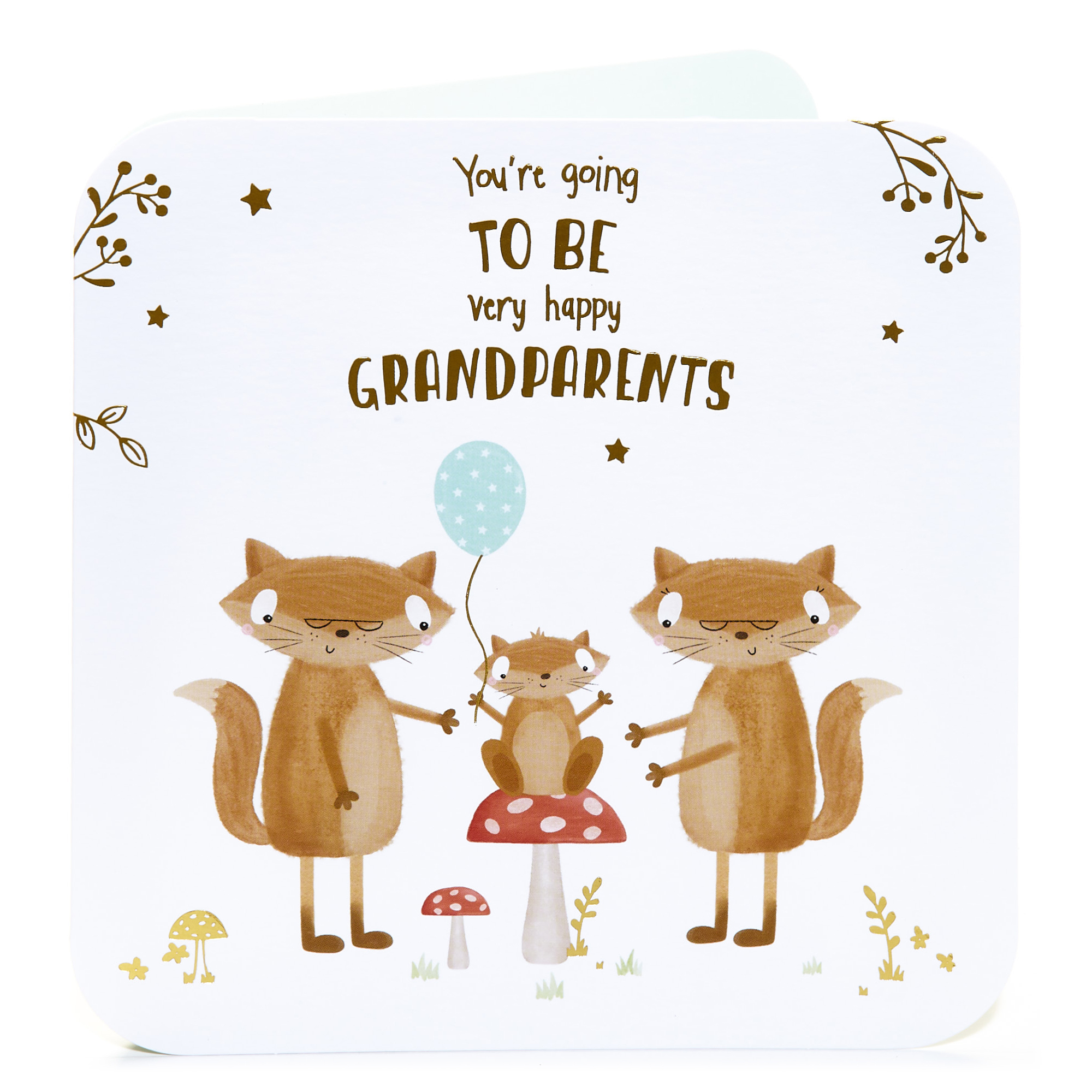 Pregnancy Announcement Card - You're Going To Be Grandparents