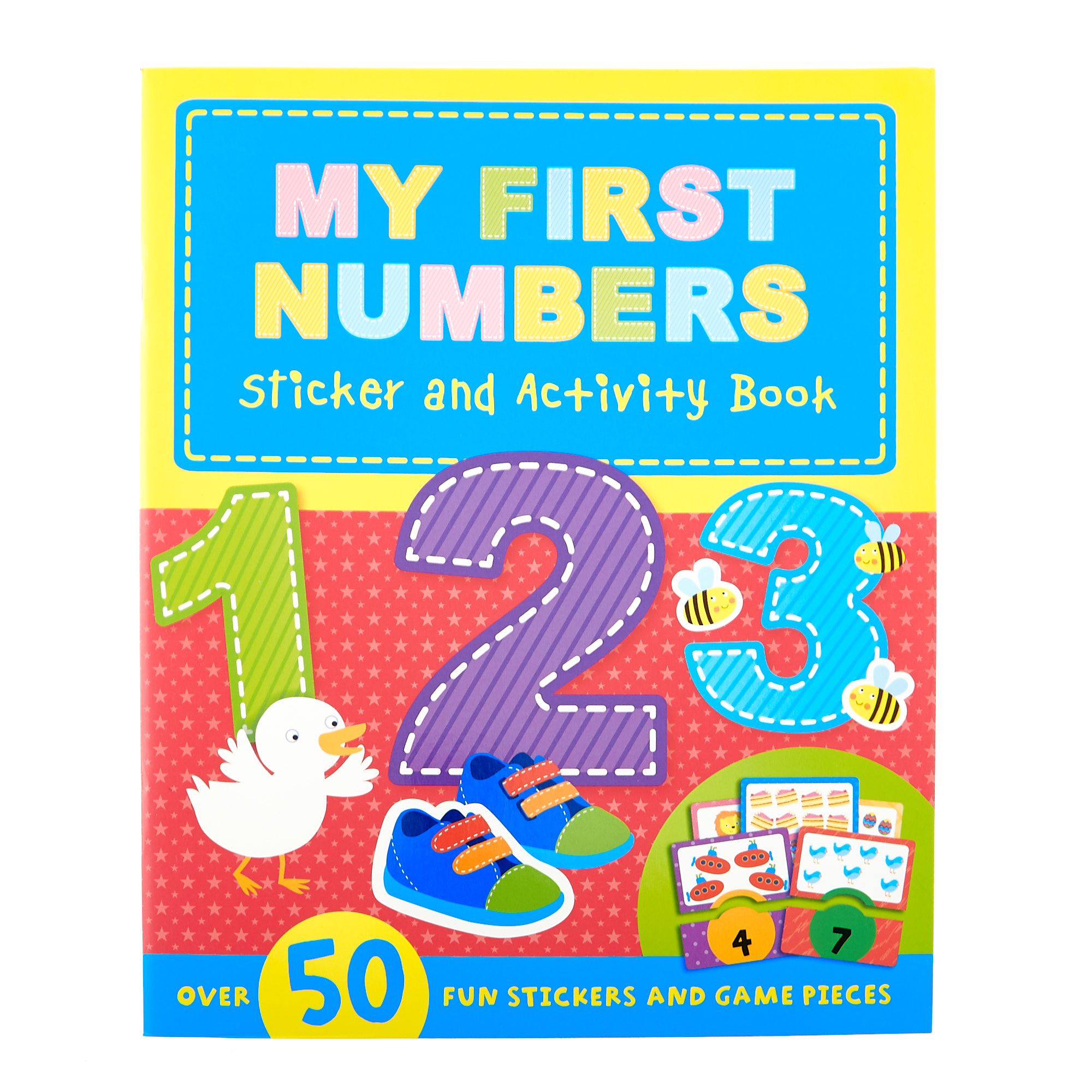 My First Sticker & Activity Books - Set Of 4