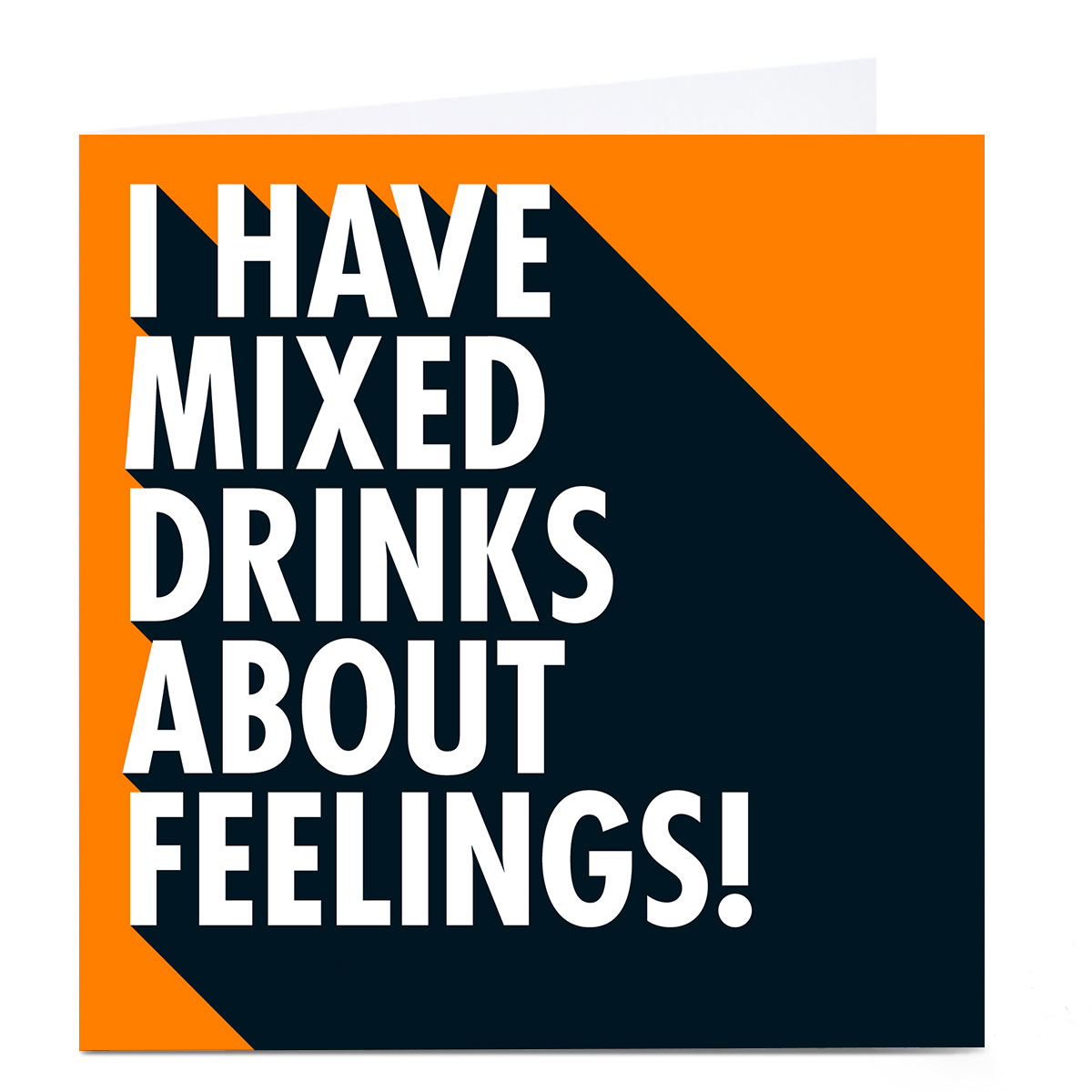 Personalised Hello Munki Card - Mixed Drinks