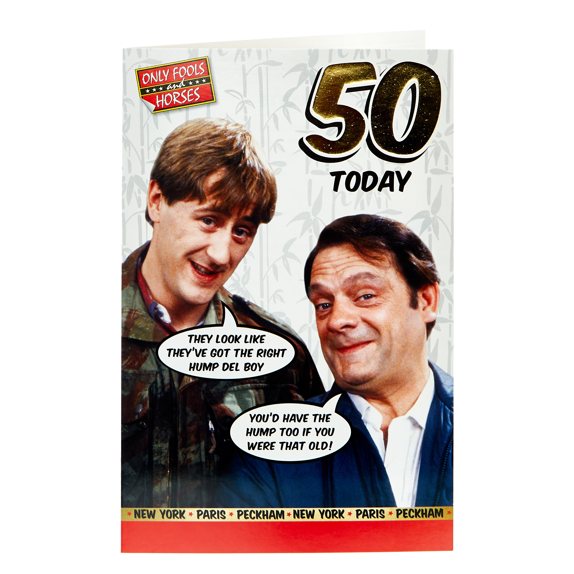 Only Fools & Horses 50th Birthday Card
