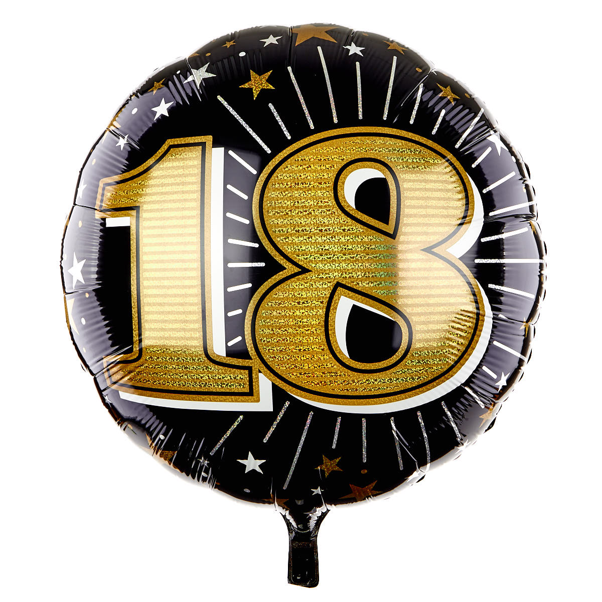 31 Inch Foil Balloon - Age 18 Gold 16445