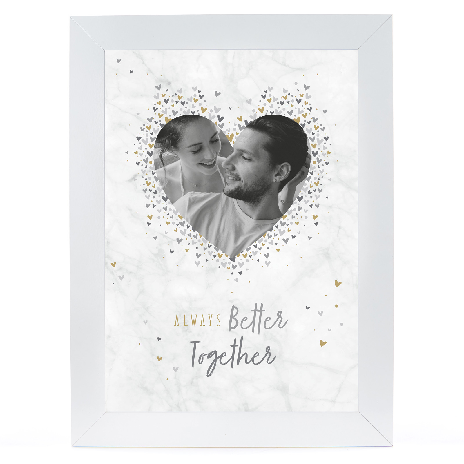 Personalised Photo Print - Always Better Together