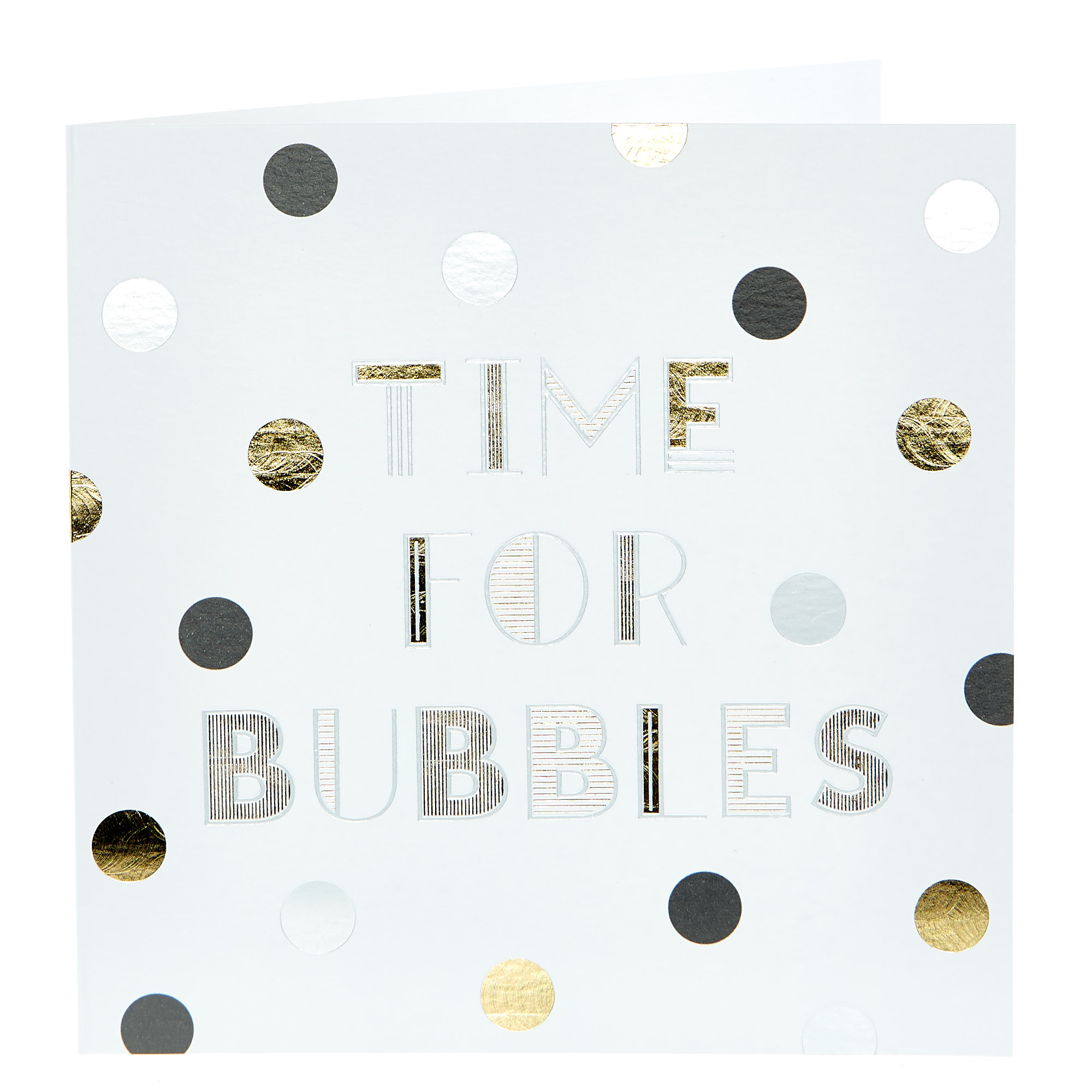 Any Occasion Card - Time For Bubbles