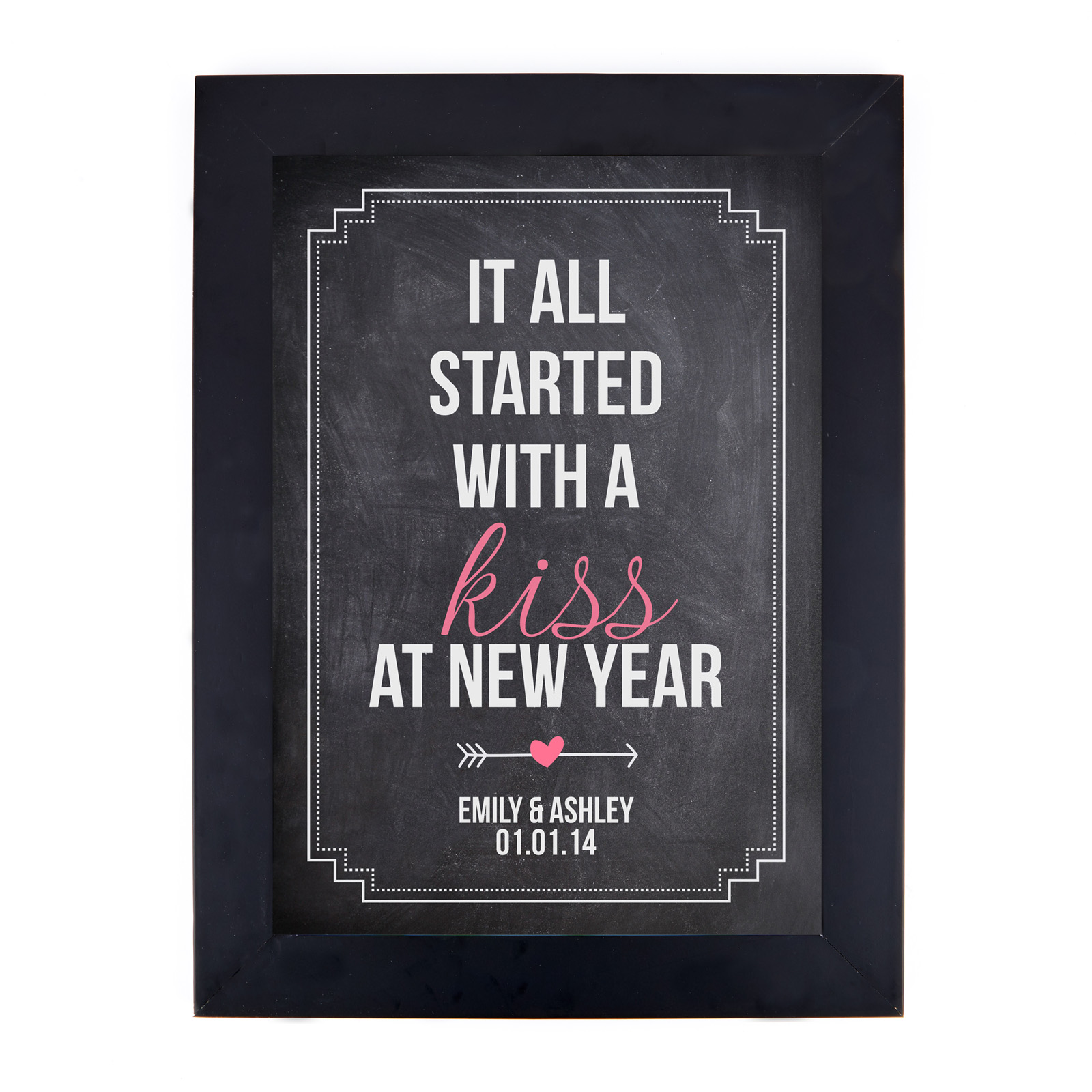 Personalised 'It All Started...' Print