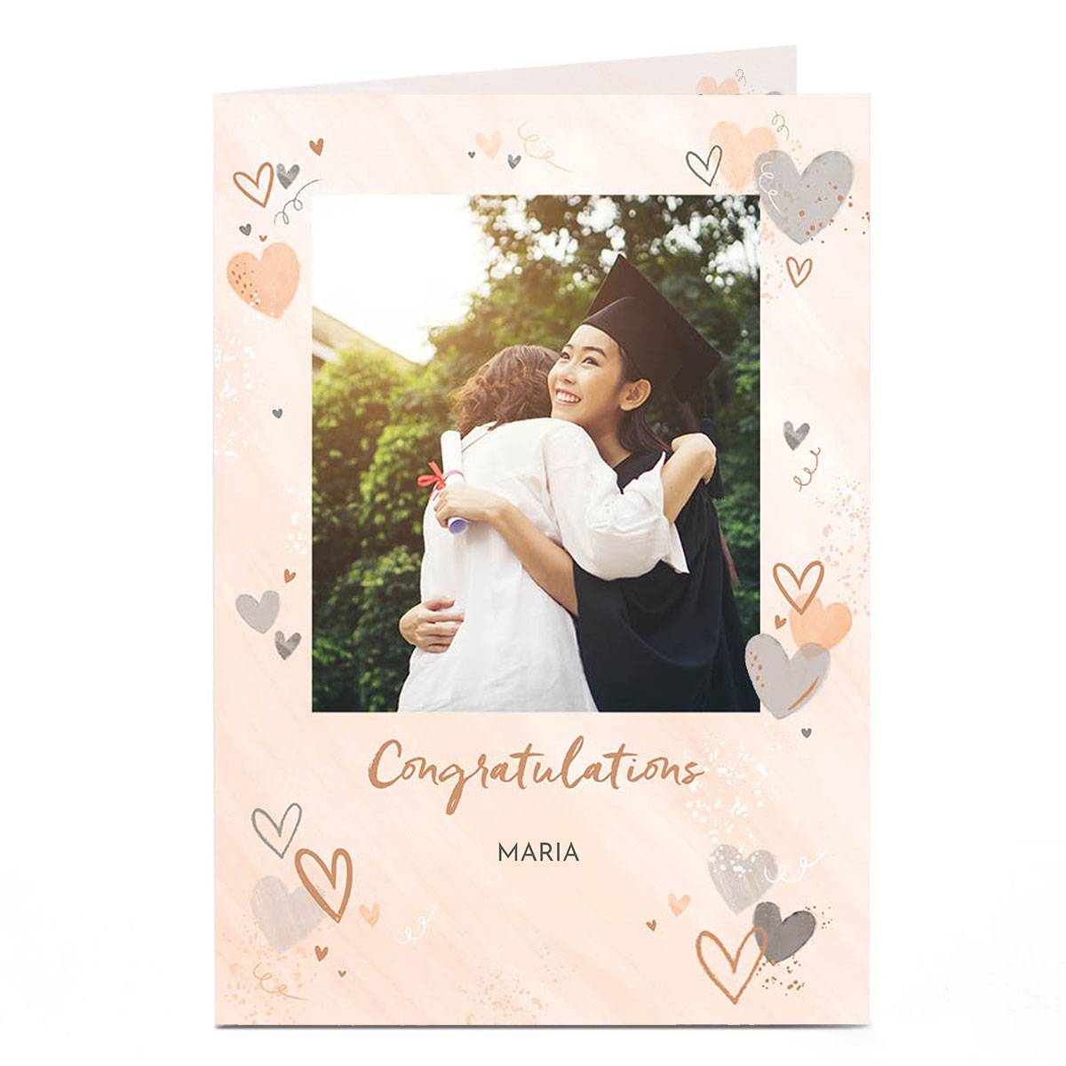 Personalised Photo Card - Eday Congratulations