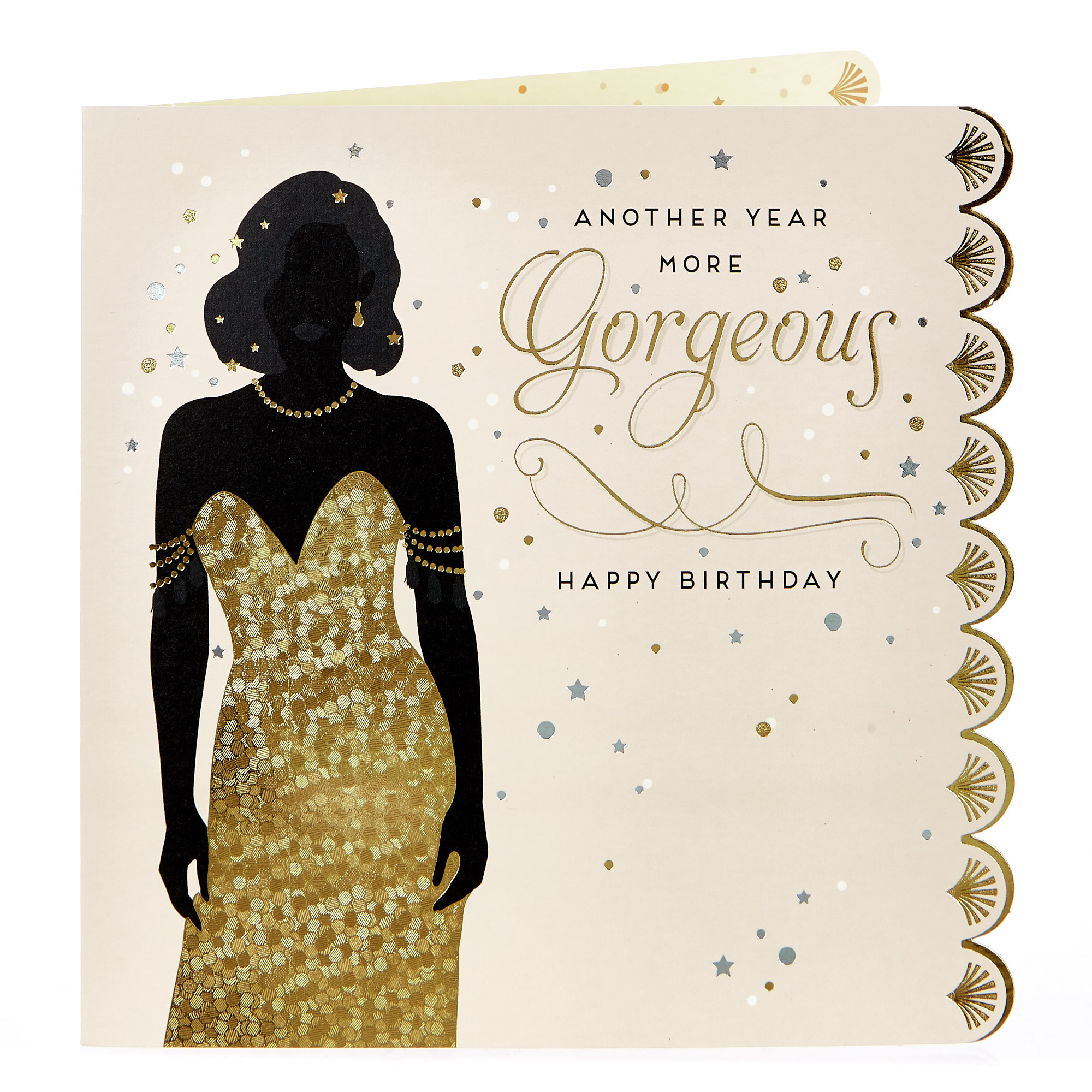 Birthday Card - Another Year More Gorgeous