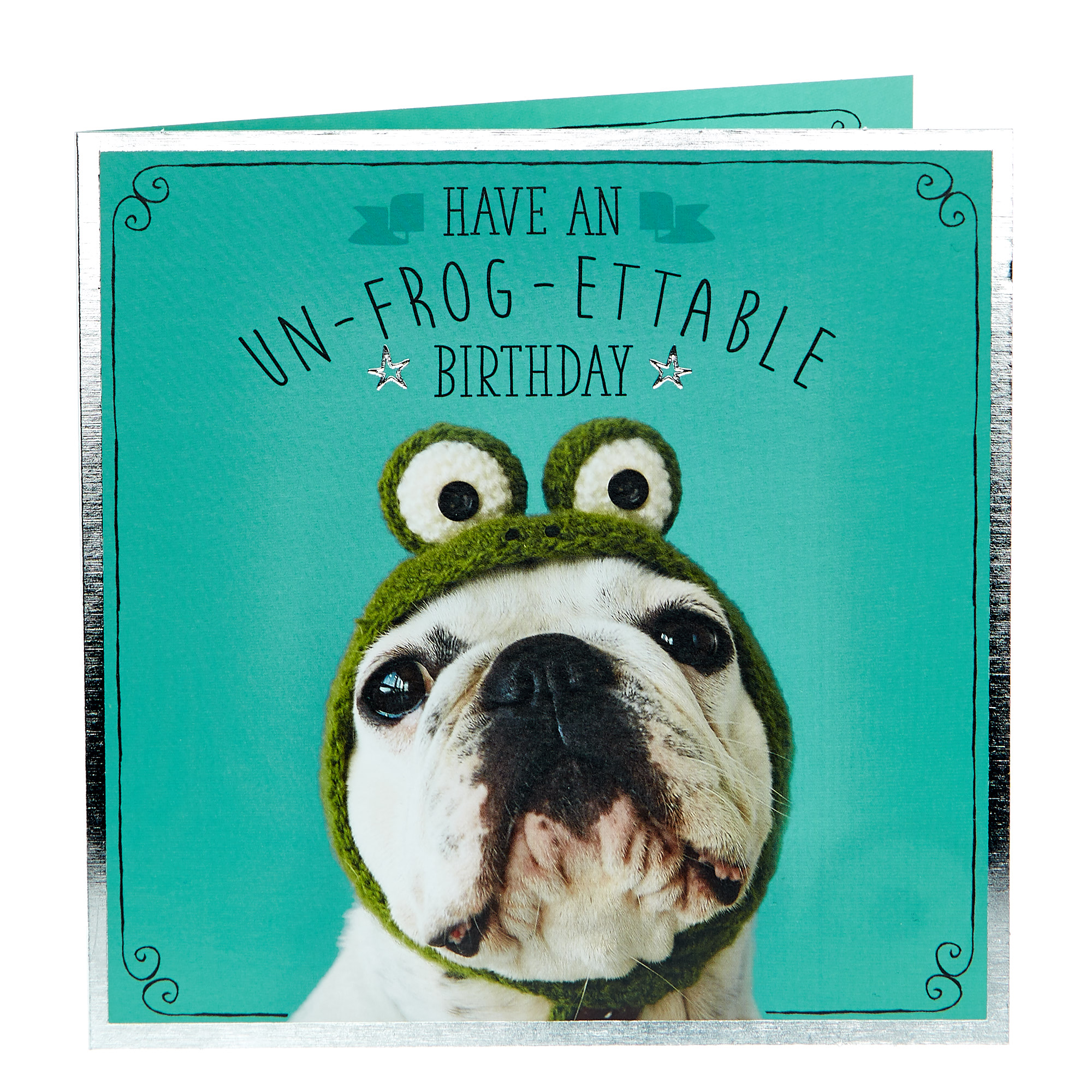Birthday Card - Un-frog-ettable
