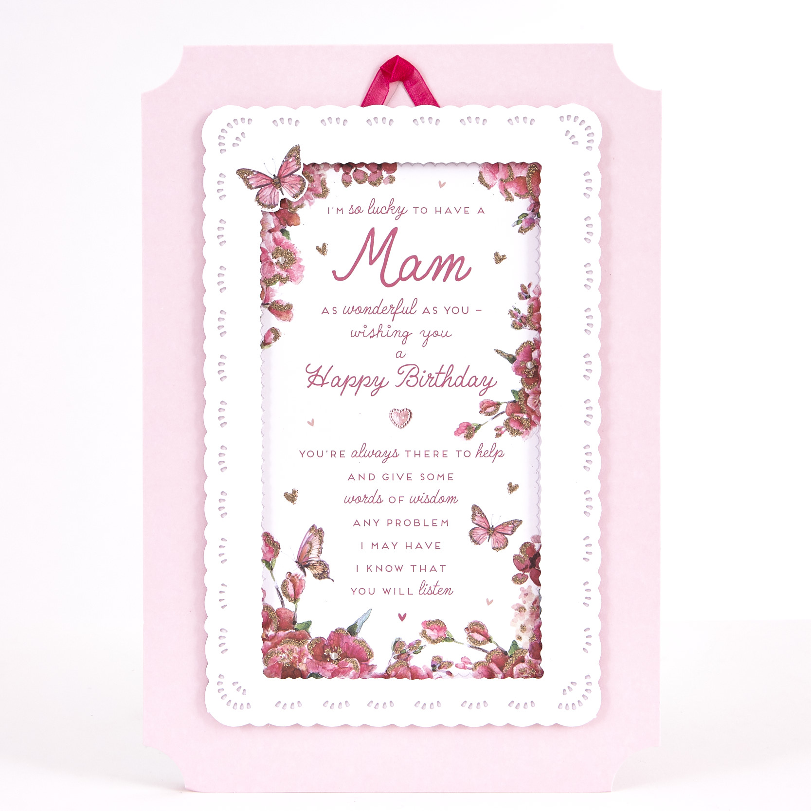 Signature Collection Birthday Card - Mam Roses