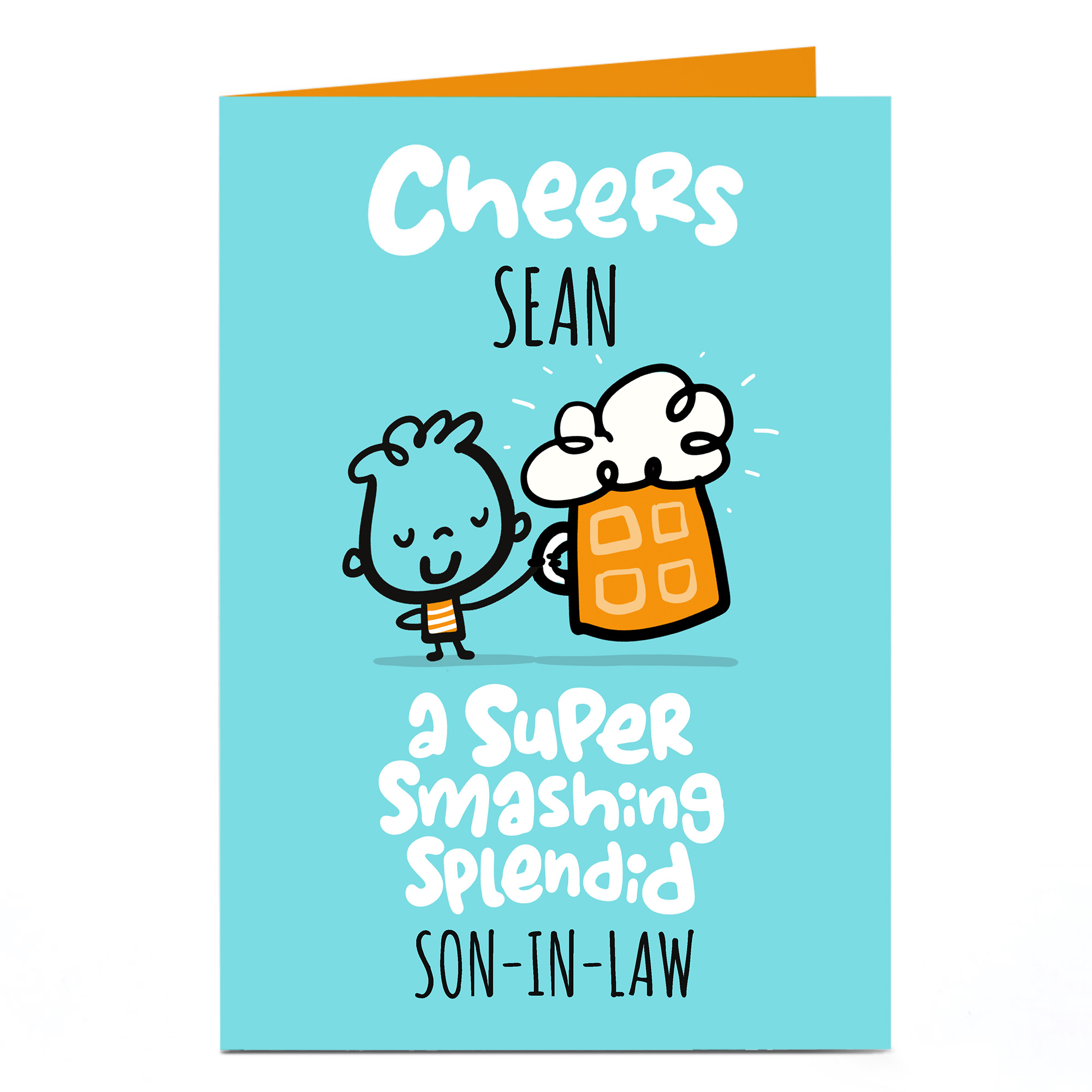 Personalised Fruitloops Birthday Card - Super, Smashing, Splendid