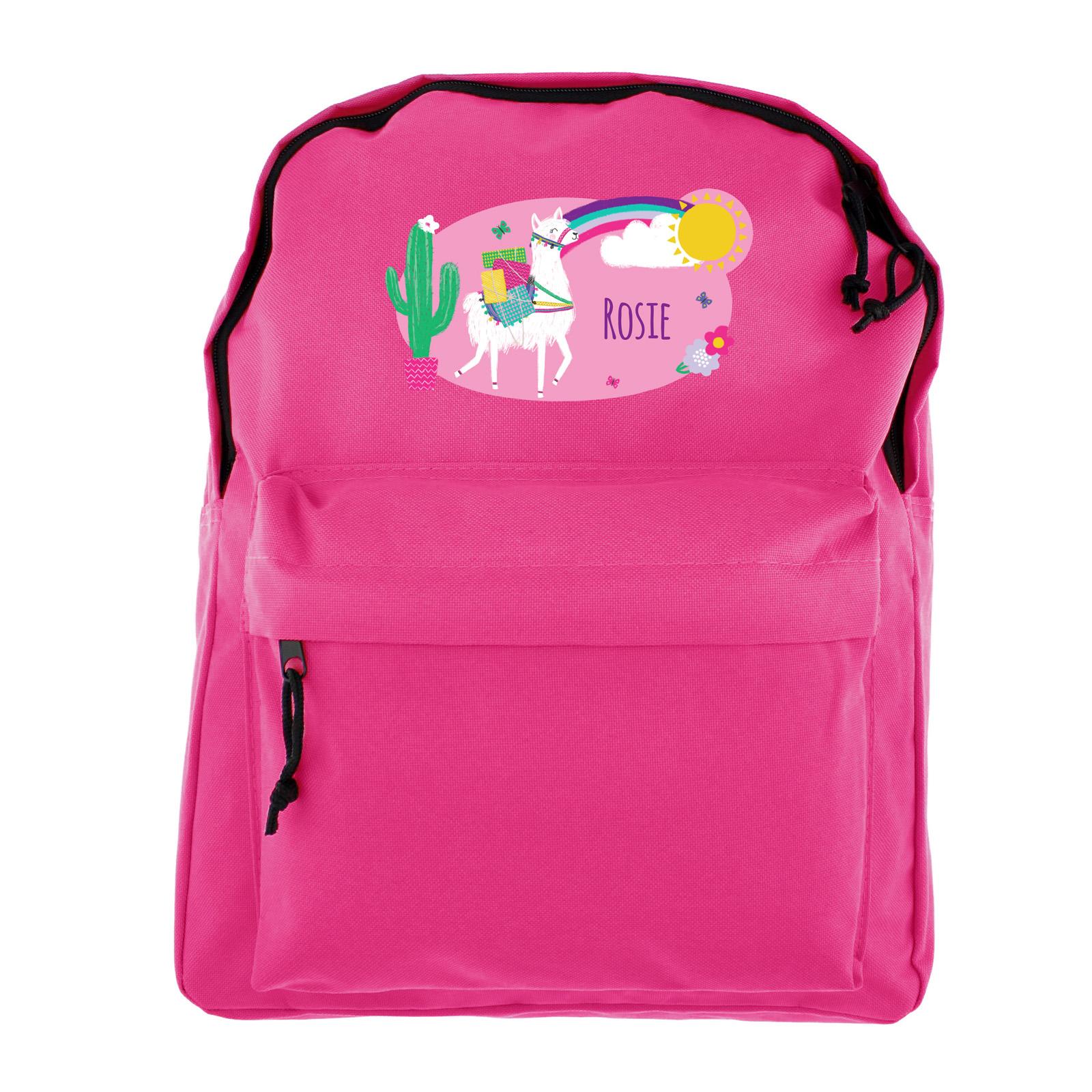 Buy Personalised Backpack Llama For Gbp 14 99 Card Factory Uk