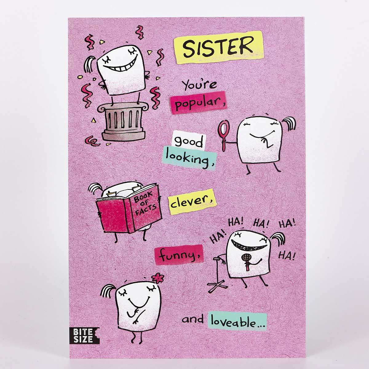 Signature Collection Birthday Card - Sister Popular
