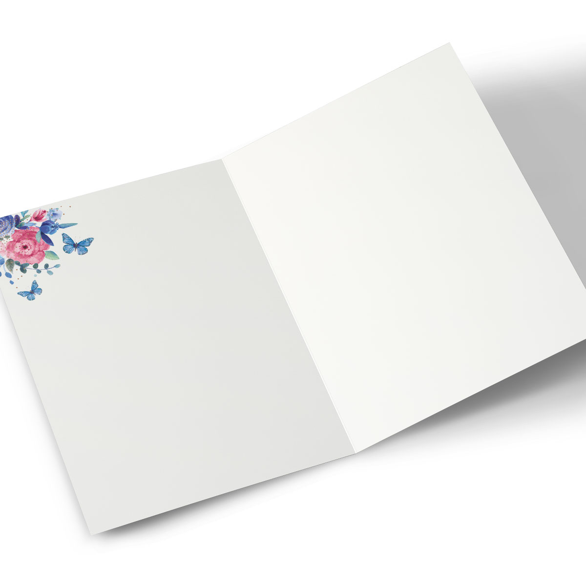 Photo Card - Floral Tree