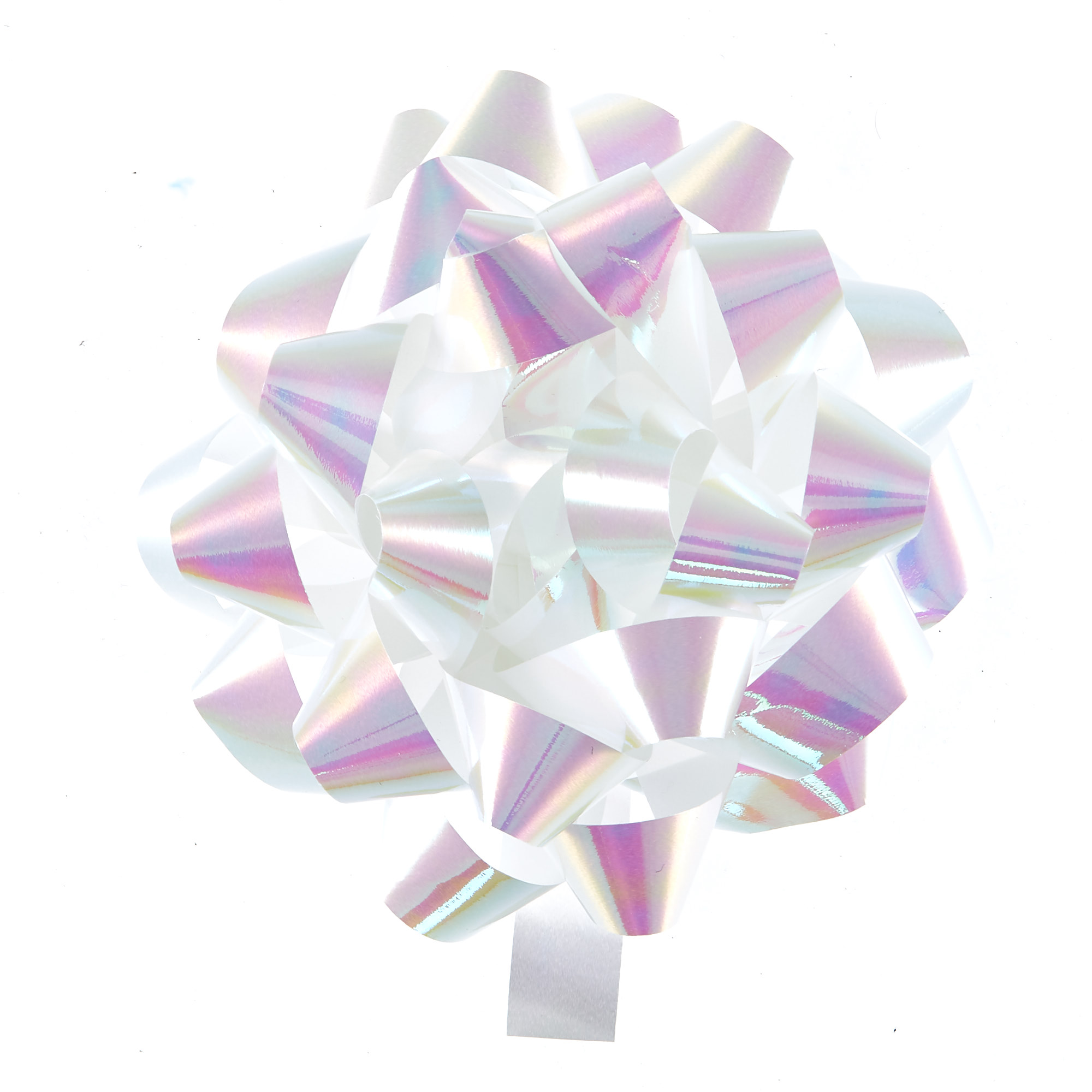 Giant Iridescent Gift Bow