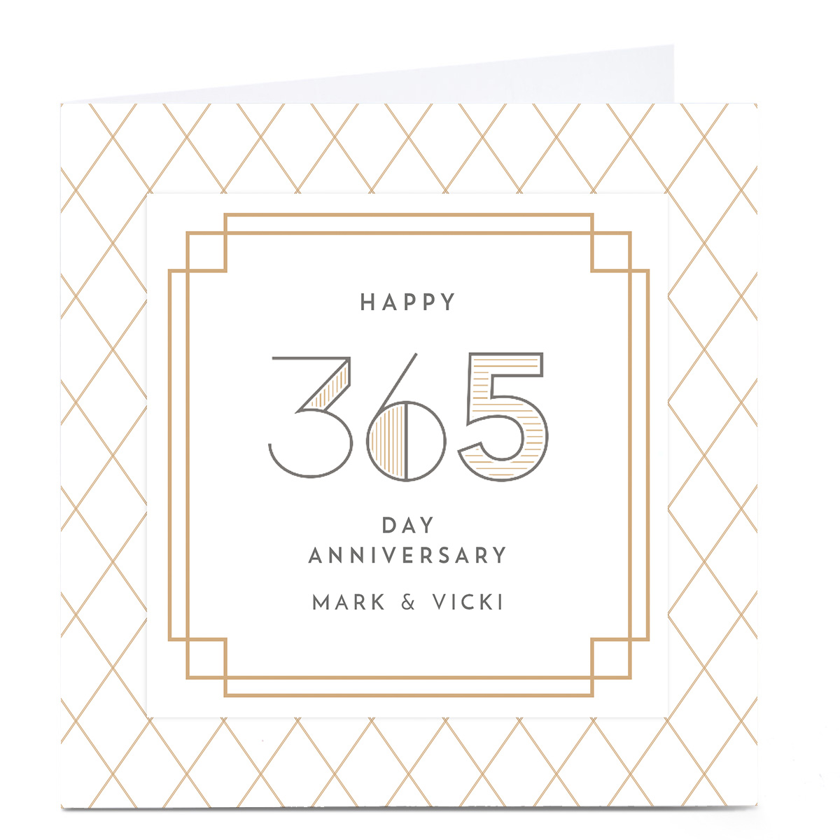 Personalised Anniversary Card - Happy Day