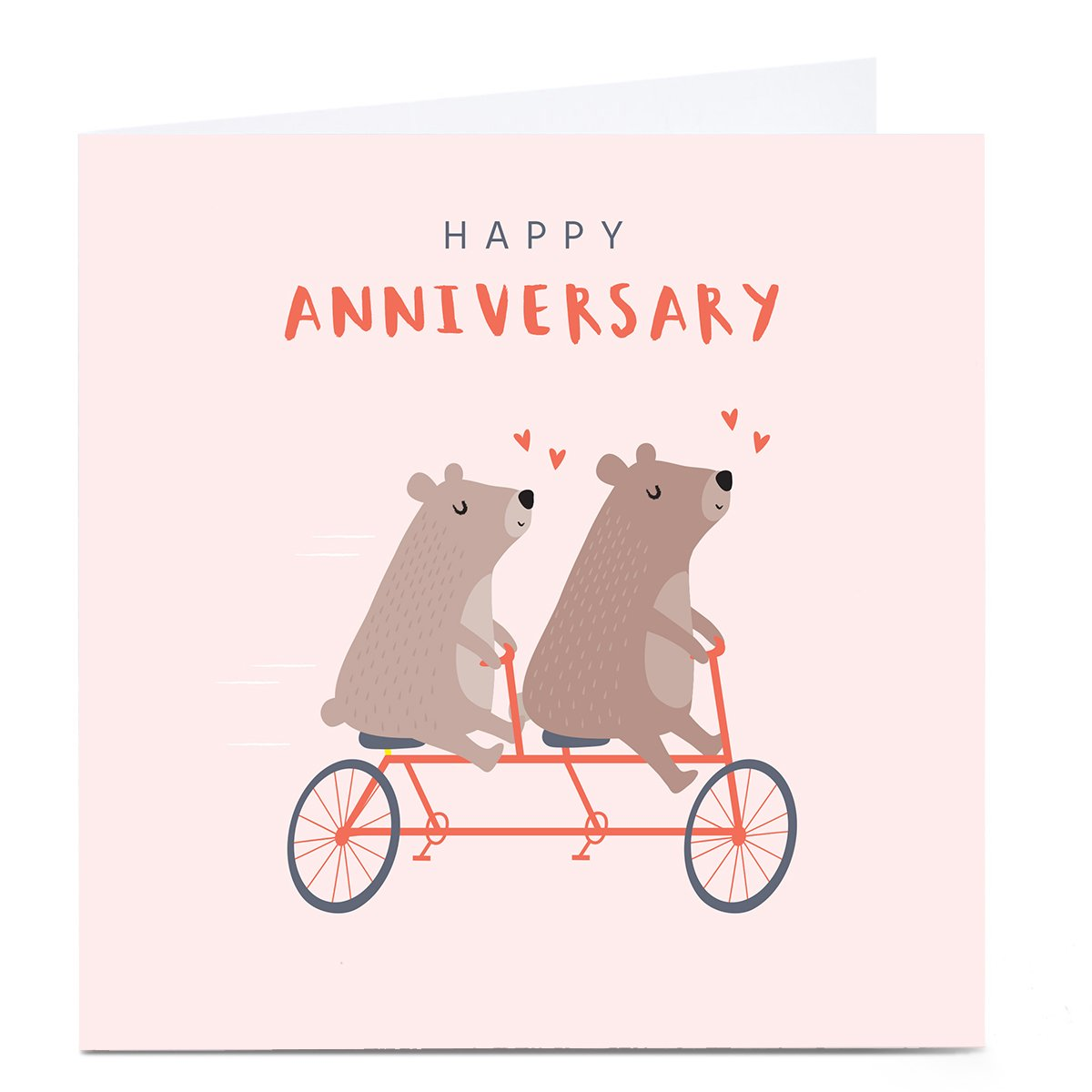 Personalised Klara Hawkins Card - Anniversary Mice