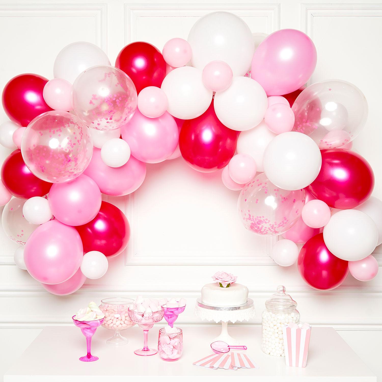 Buy Diy Balloon Garland Kit Pink For Gbp 14 99 Card Factory Uk