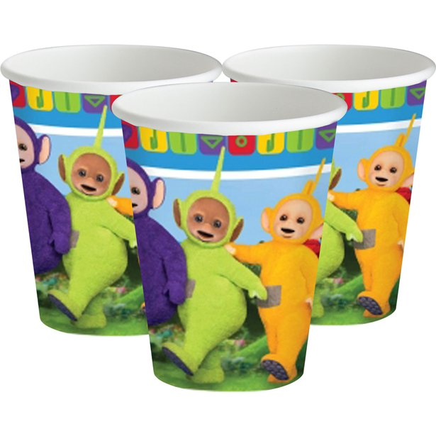Teletubbies Party Tableware & Decorations Bundle - 42 Pieces