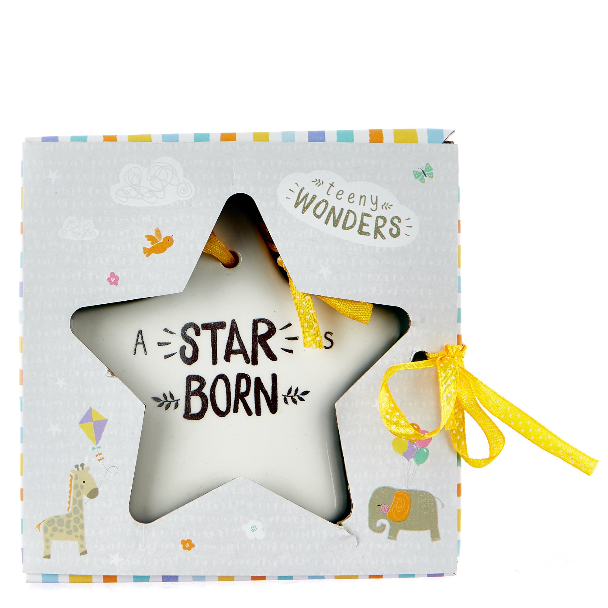 Teeny Wonders Hanging Star Decoration
