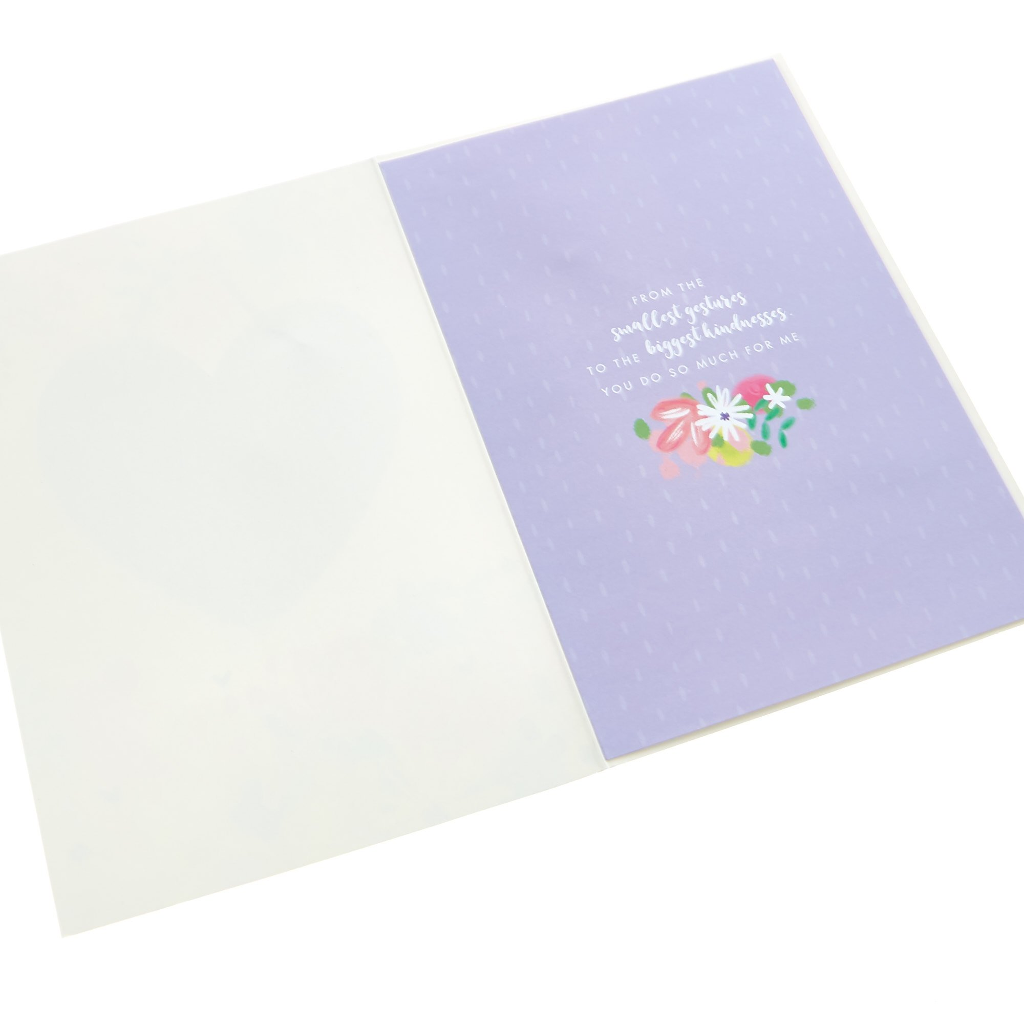 Mother's Day Card - Amazing Mum (With Keepsake)