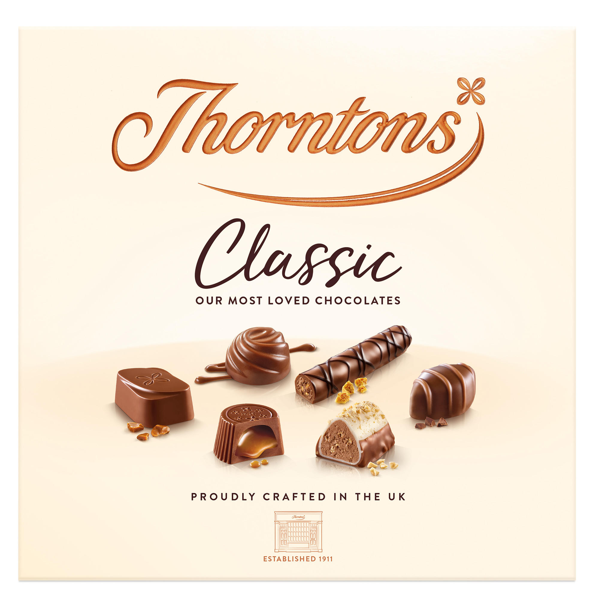 Thorntons Classic Assorted Collection Box 150g