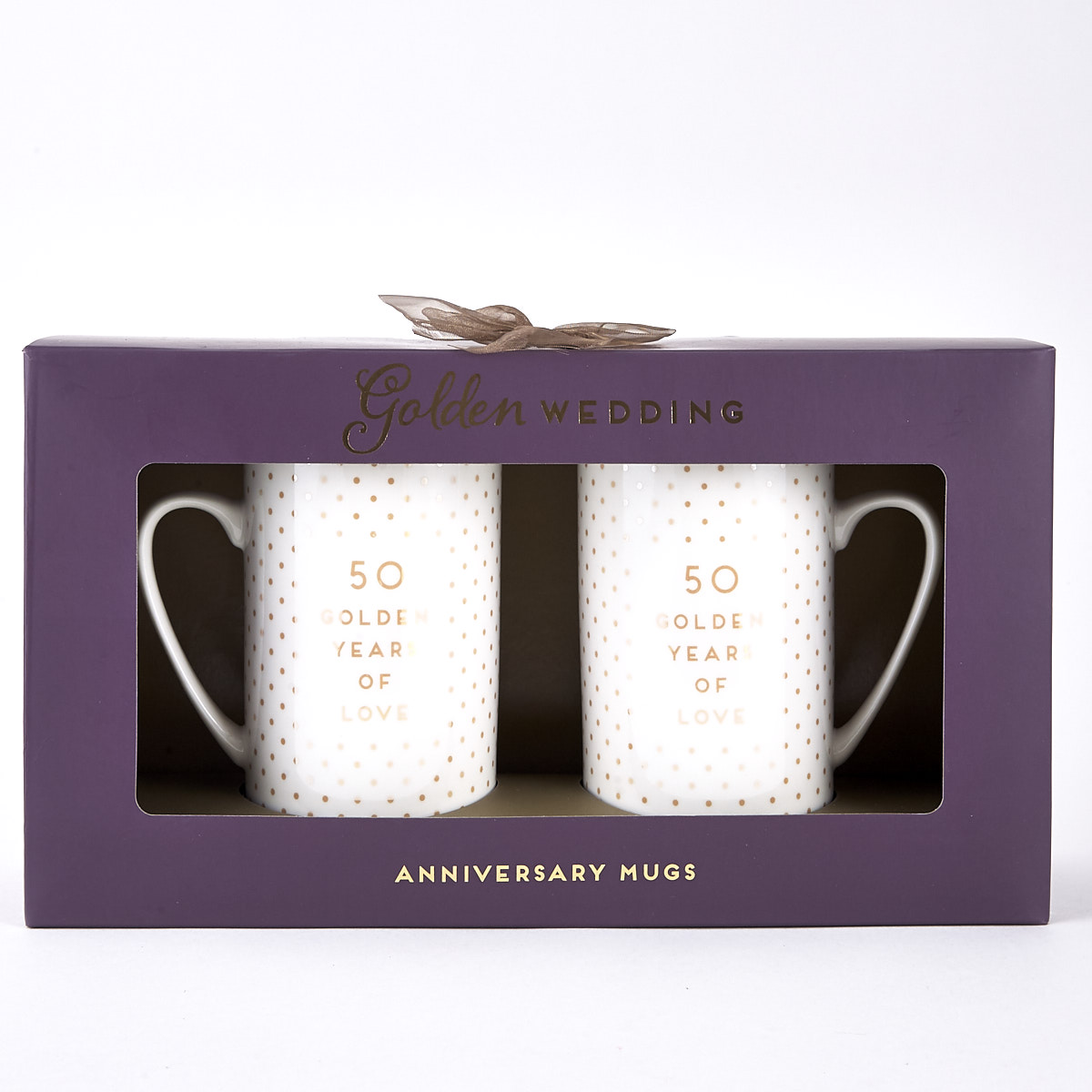 buy golden wedding 50th anniversary mugs for gbp 599