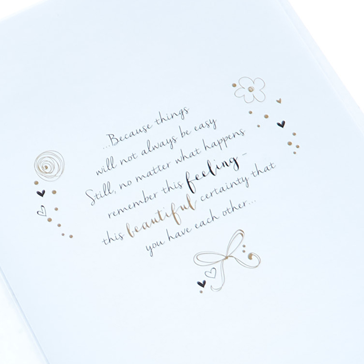 Engagement Card - Beginning Of A Future...