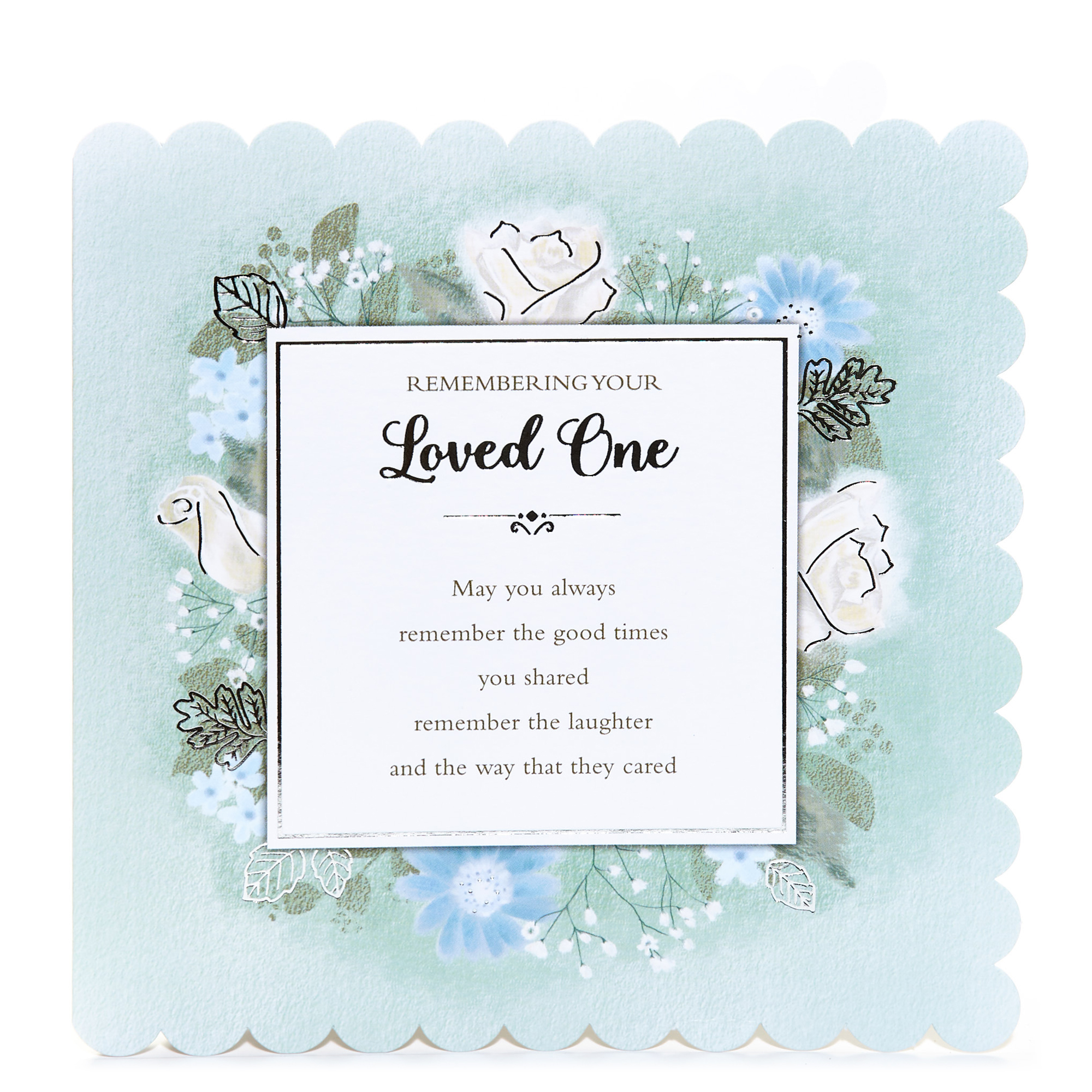 buy sympathy card  your loved one for gbp 099  card