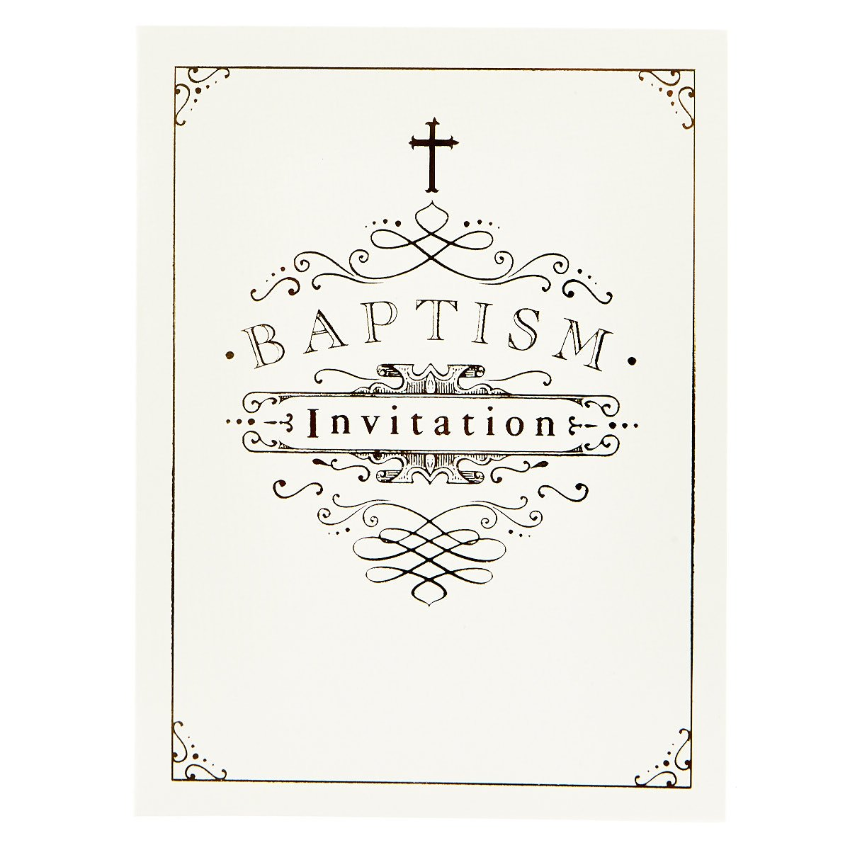 Baptism Invitations - Pack of 12