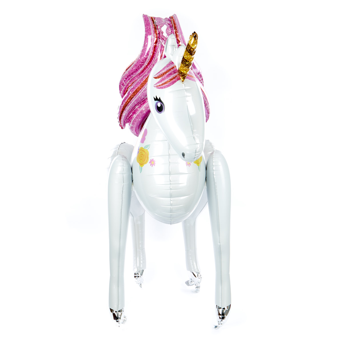 Unicorn Helium Airwalker Balloon (Deflated)