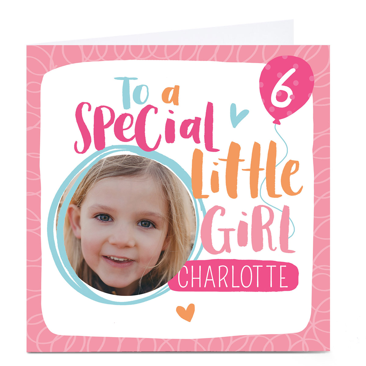 Photo Nikki Whiston Card - Special Little Girl