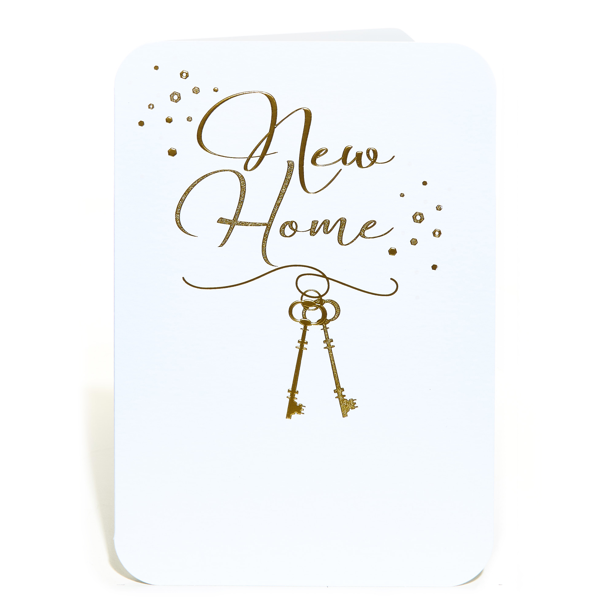 New Home Card - Gold Keys