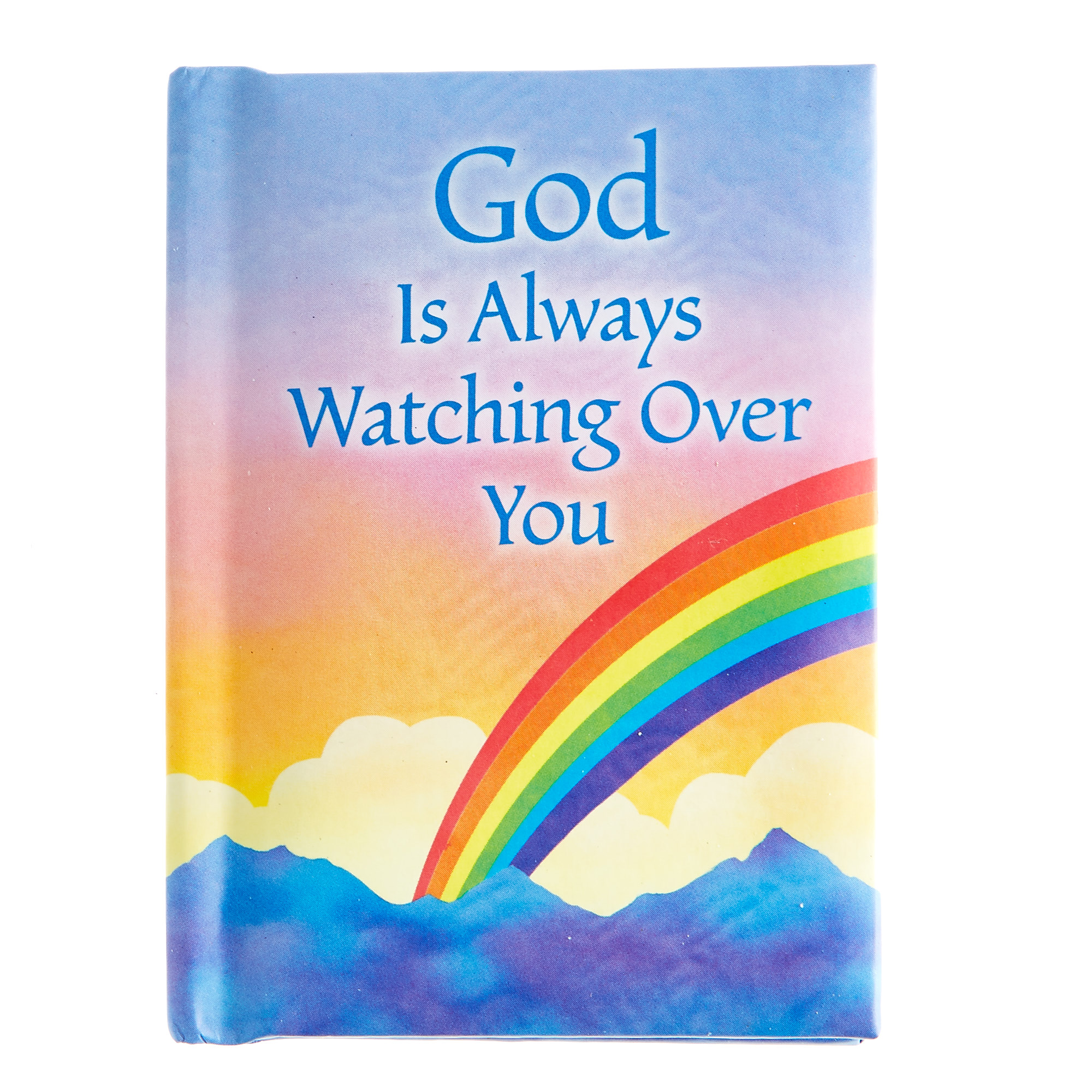 Blue Mountain Arts Keepsake Book - God Is Always Watching Over You