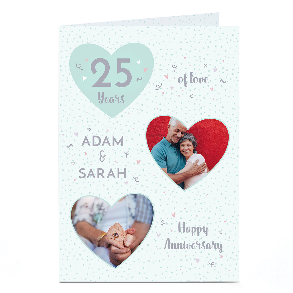 Photo Anniversary Card - Years of Love