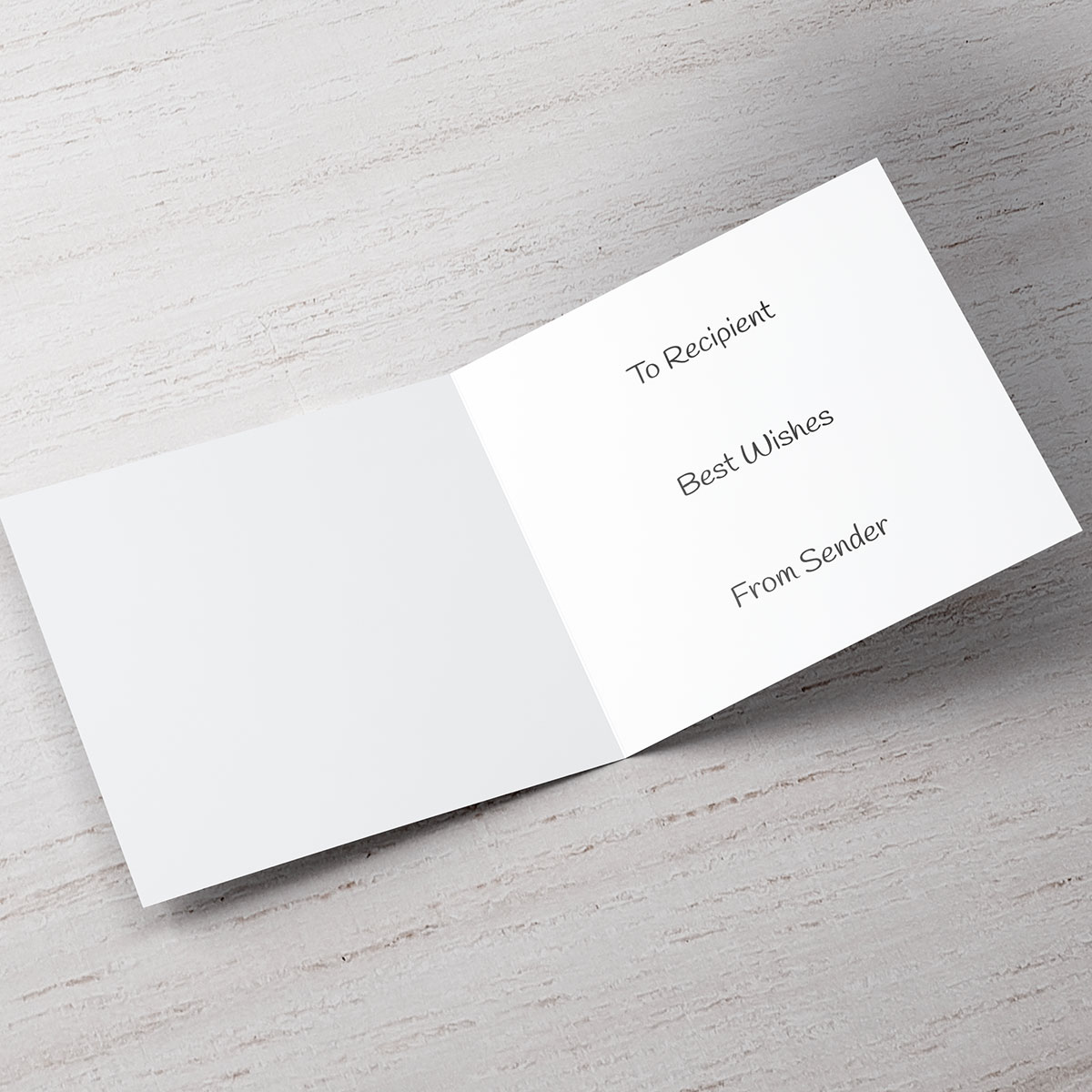 Personalised Wedding Card - My Groom