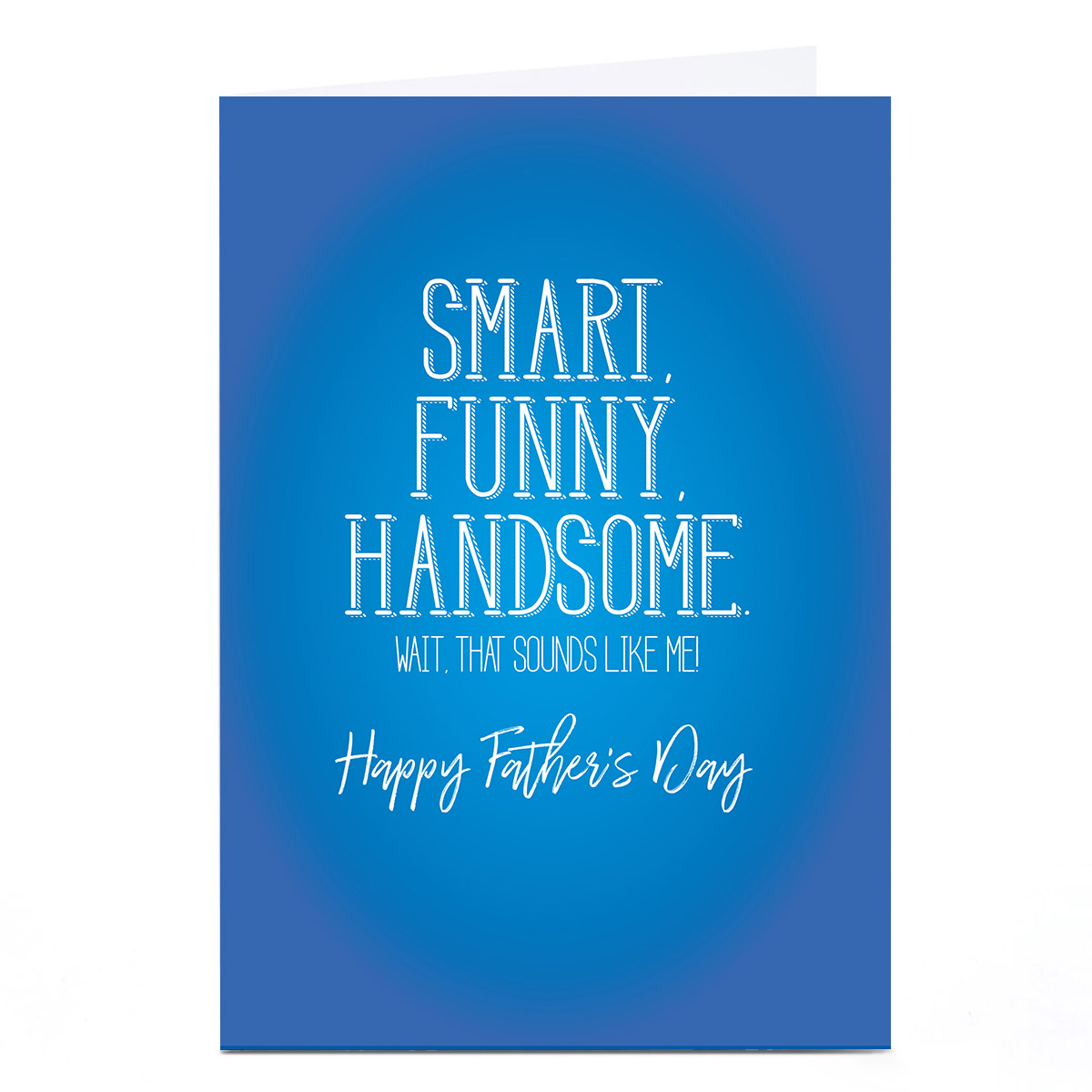 Personalised Punk Father's Day Card - Smart Funny Handsome