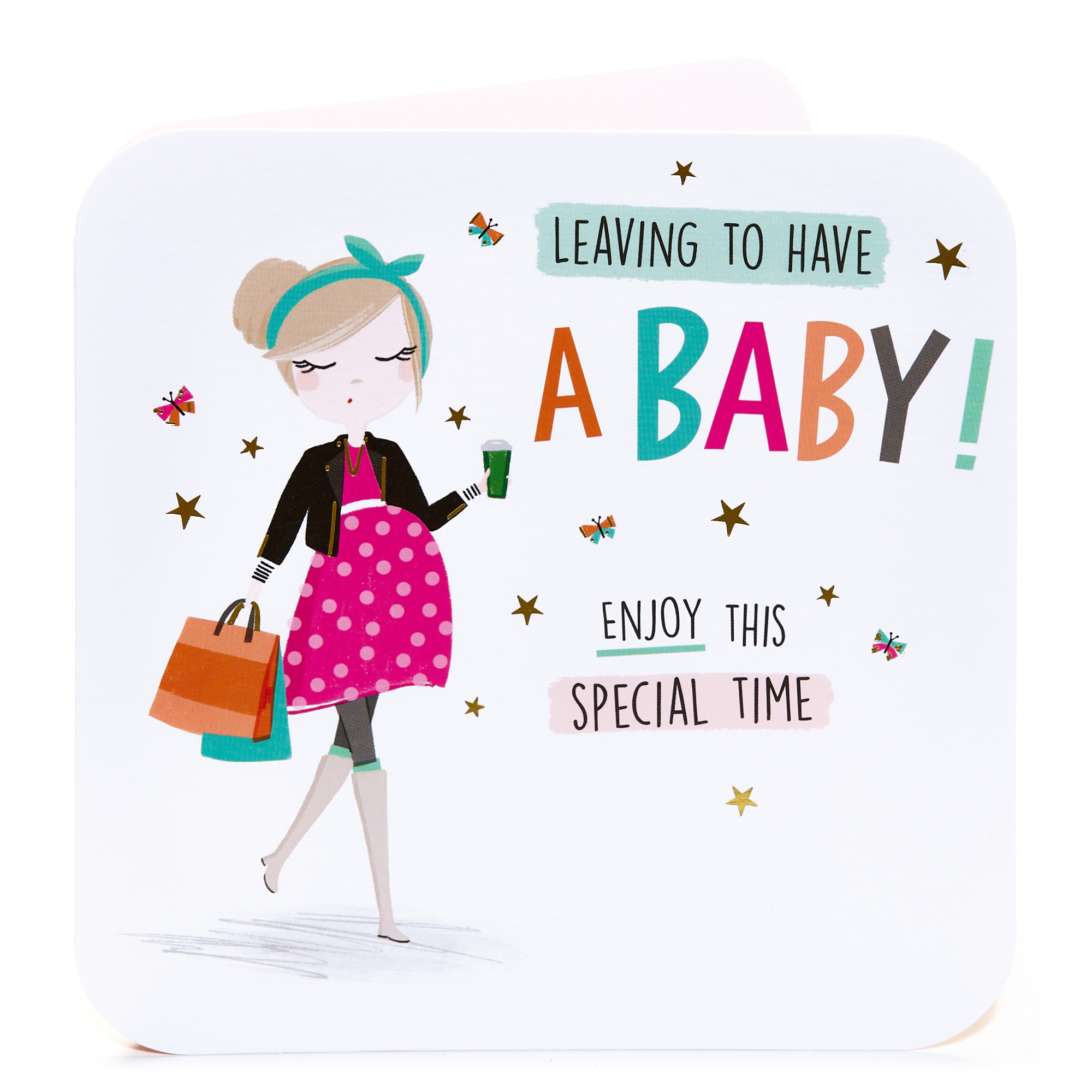 Leaving Card - Leaving To Have A Baby