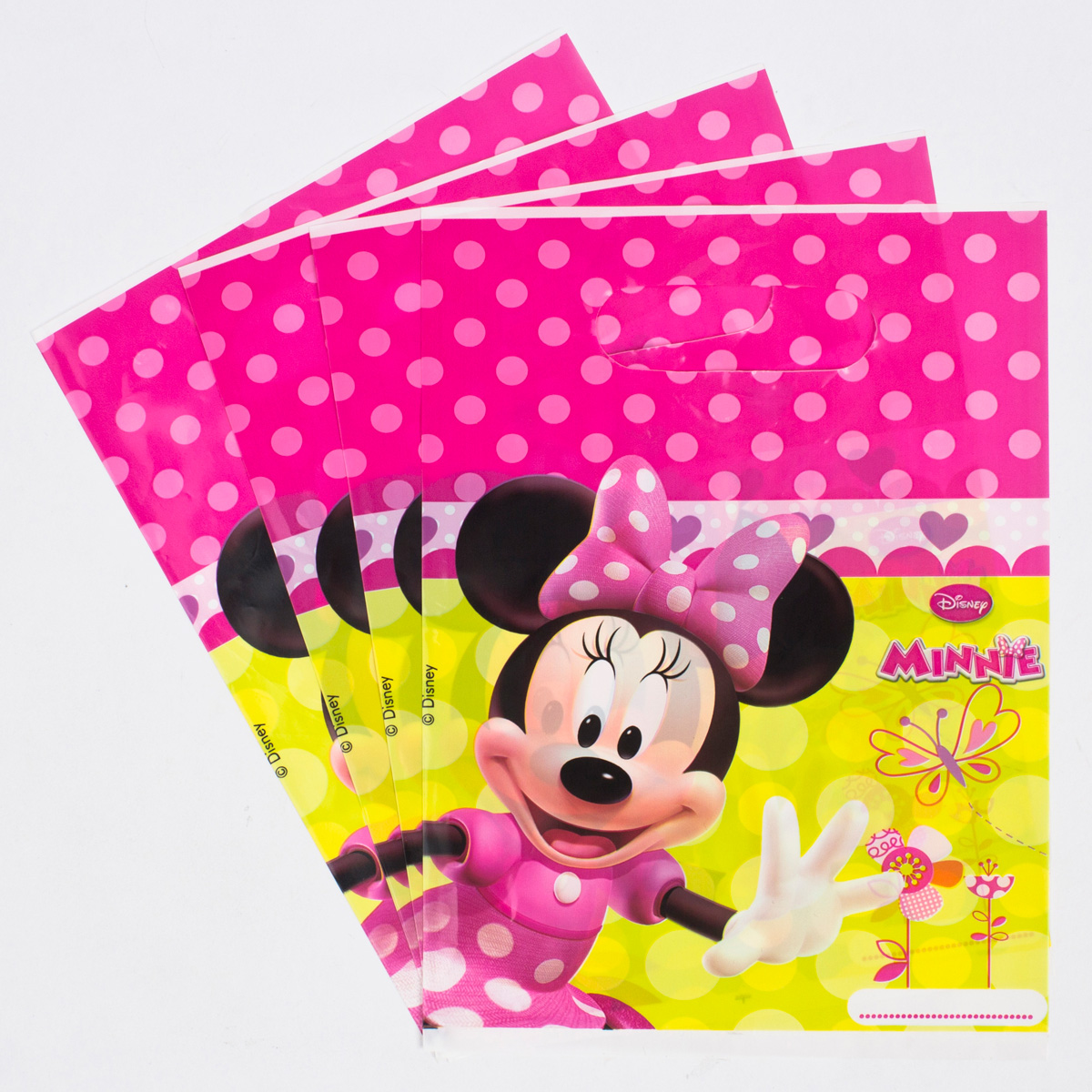 Disney Minnie Mouse Party Bags, Pack Of 6