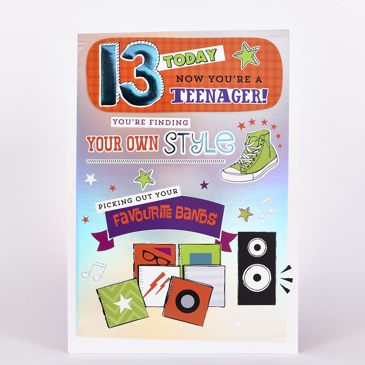Signature Collection Birthday Card - 13 Own Style